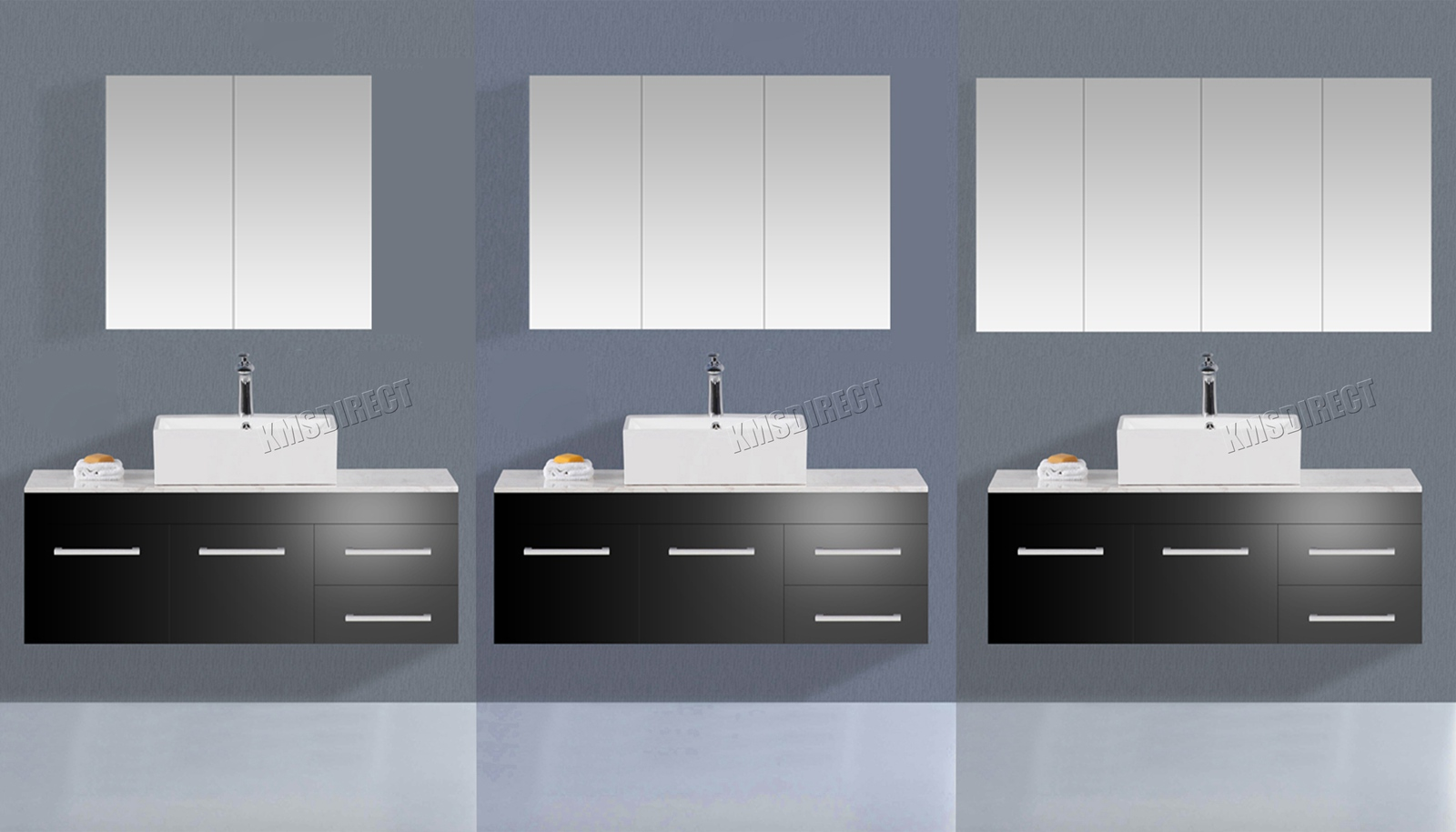 new products 31881 a9452 Details about WestWood Wall Mount Mirror Bathroom Cabinet Unit Storage  Cupboard W/Shelf White