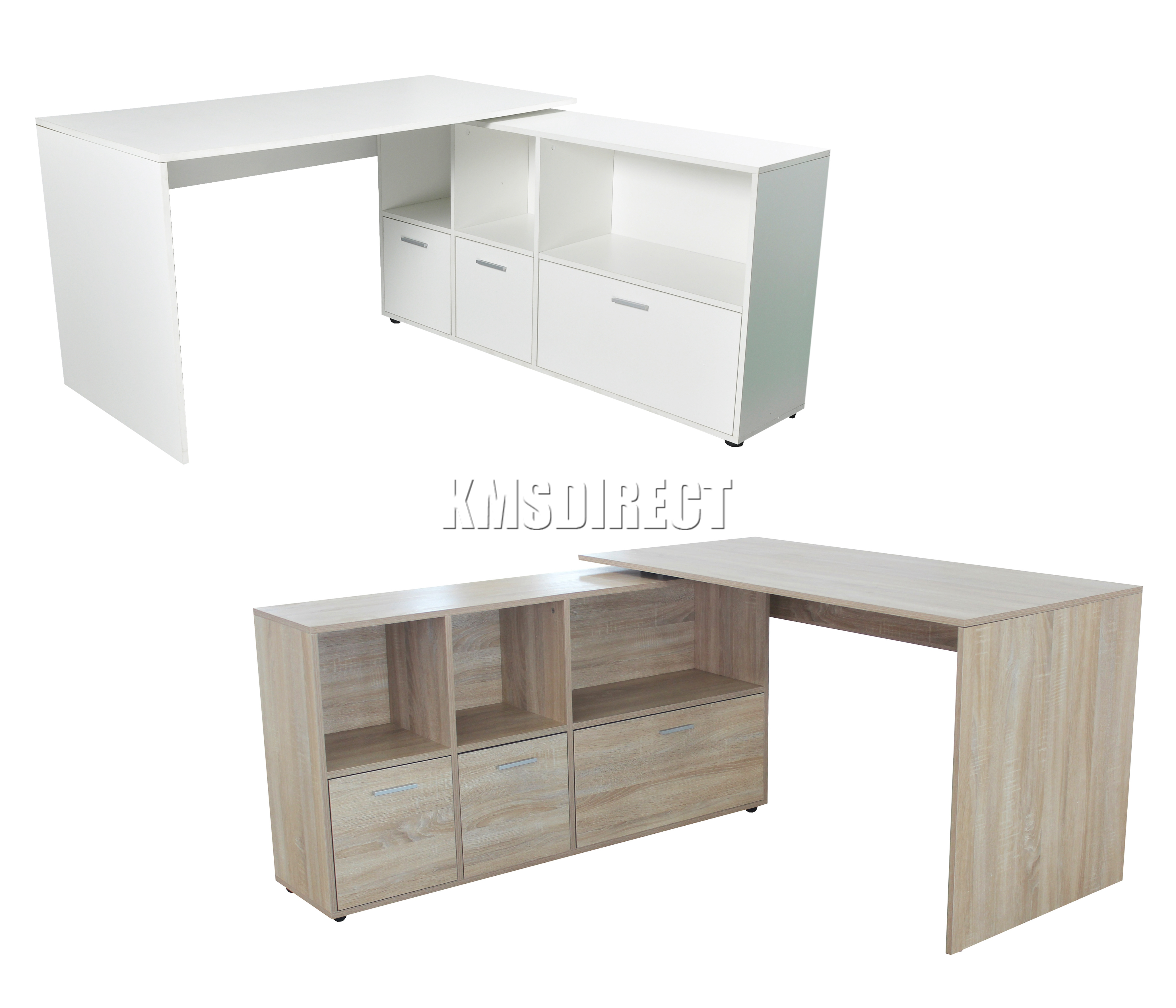 foxhunter pc computer schreibtisch ecke holz desktop tisch schrank heim ebay. Black Bedroom Furniture Sets. Home Design Ideas