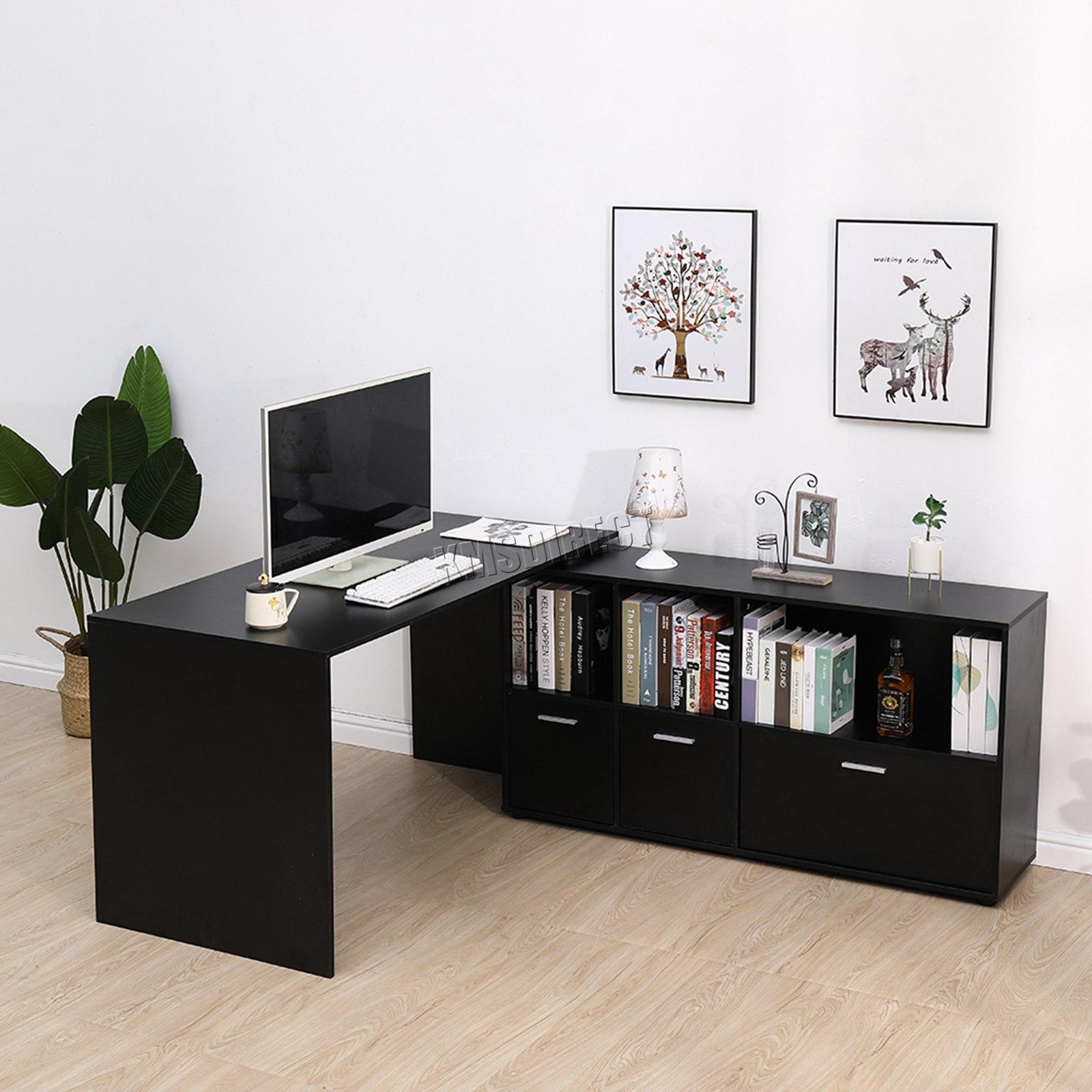 - Westwood PC Computer Schreibtisch Ecke Holz Schreibtisch Tisch