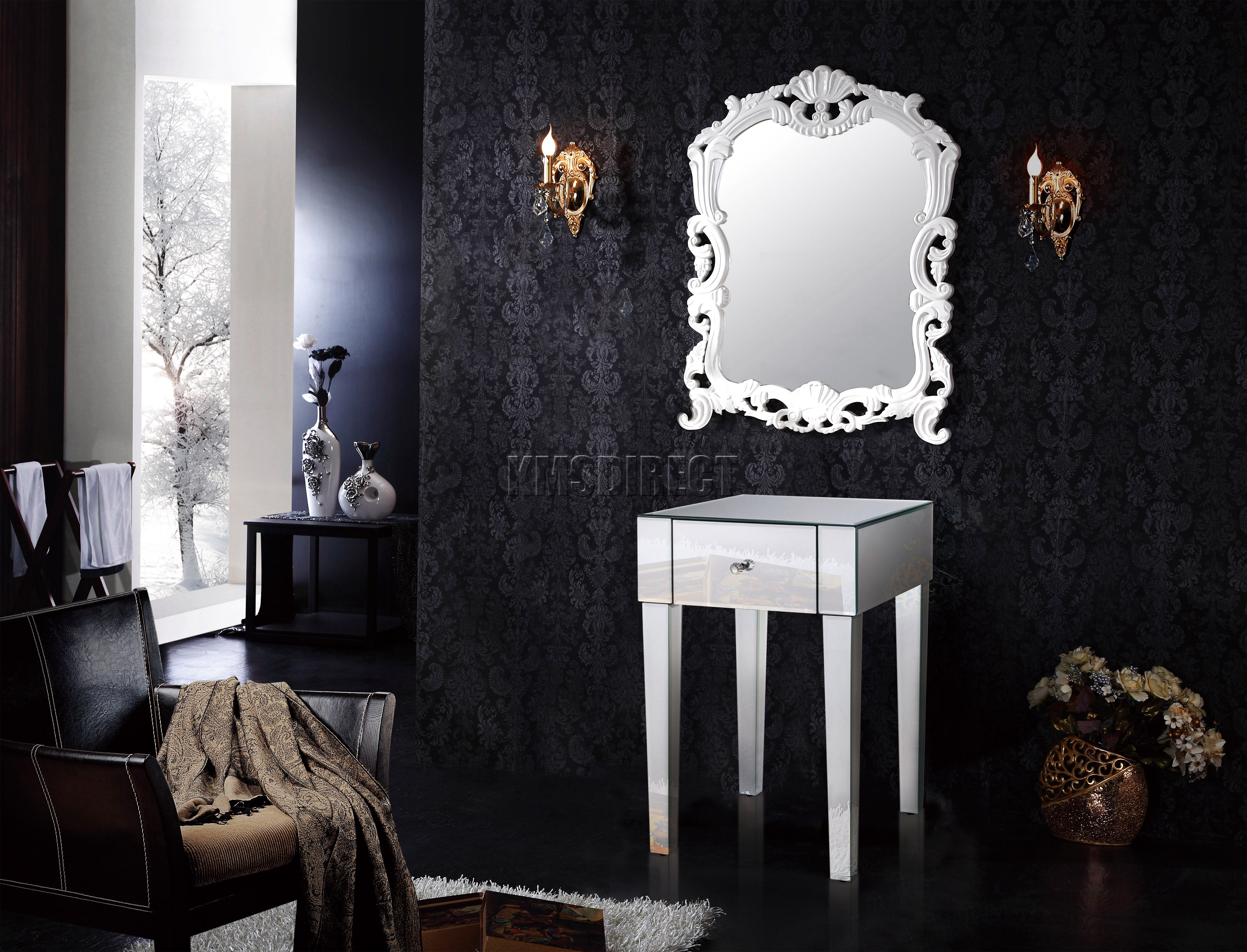 mirrored spencer furniture colors table wood ideas home together interesting design mirror cupboard bedroom cheap with