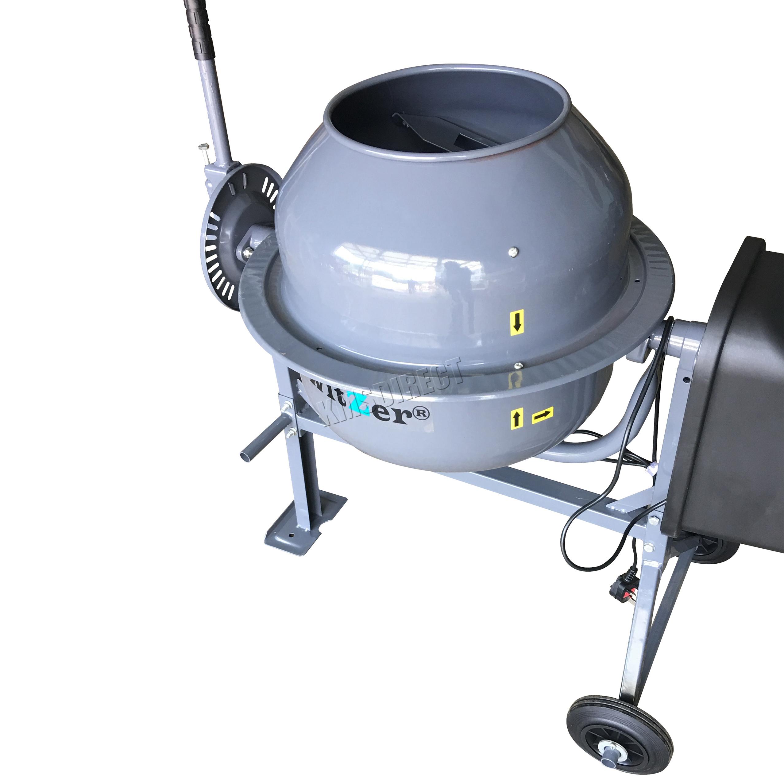 Switzer 250w Electric Concrete Cement Mixer Mortar Plaster