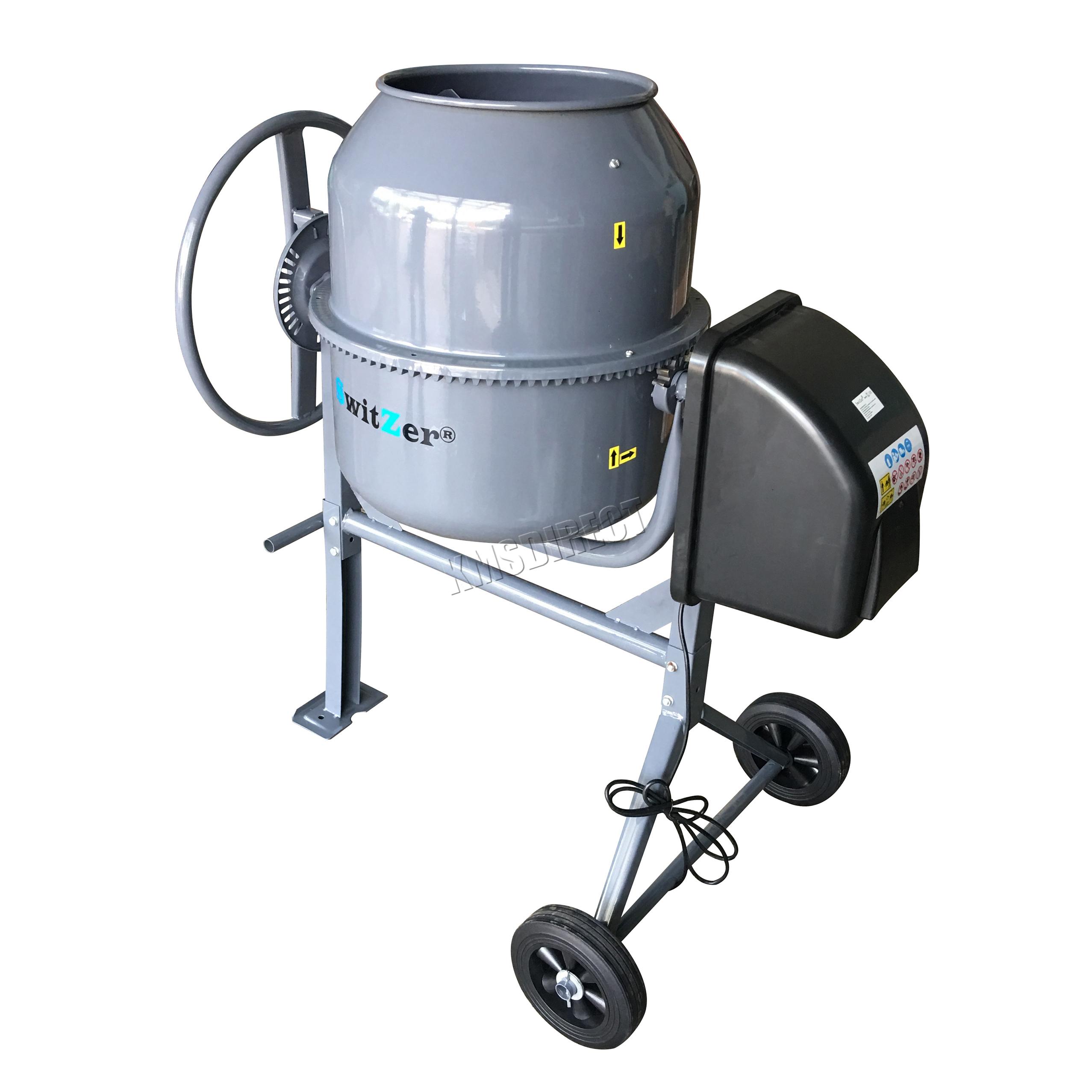 Switzer Electric Cement Mixer Portable Mortar Plaster