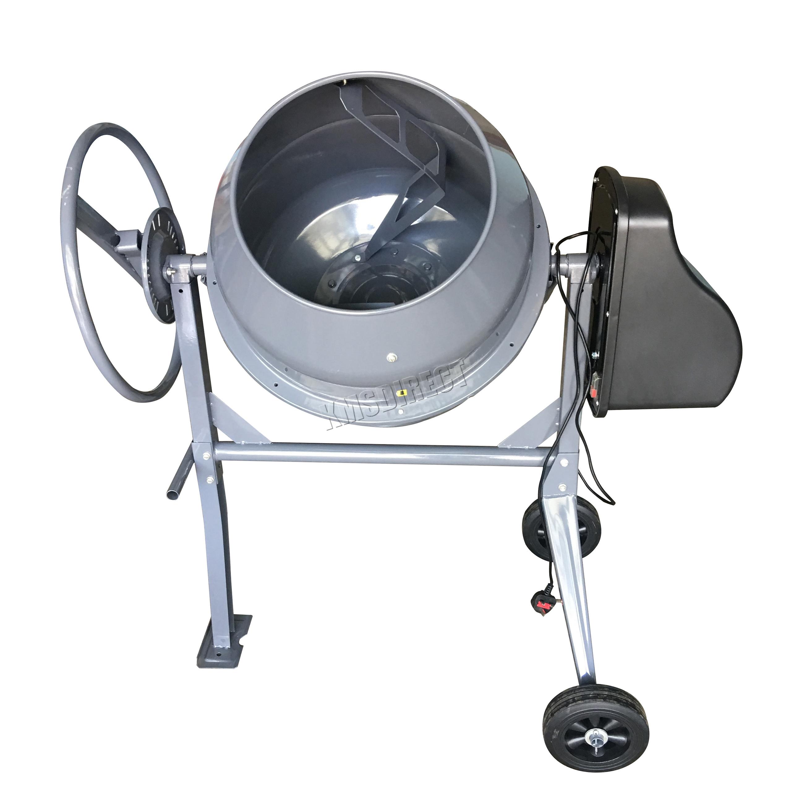 Electric Cement Mixer ~ Switzer w l drum portable electric concrete cement