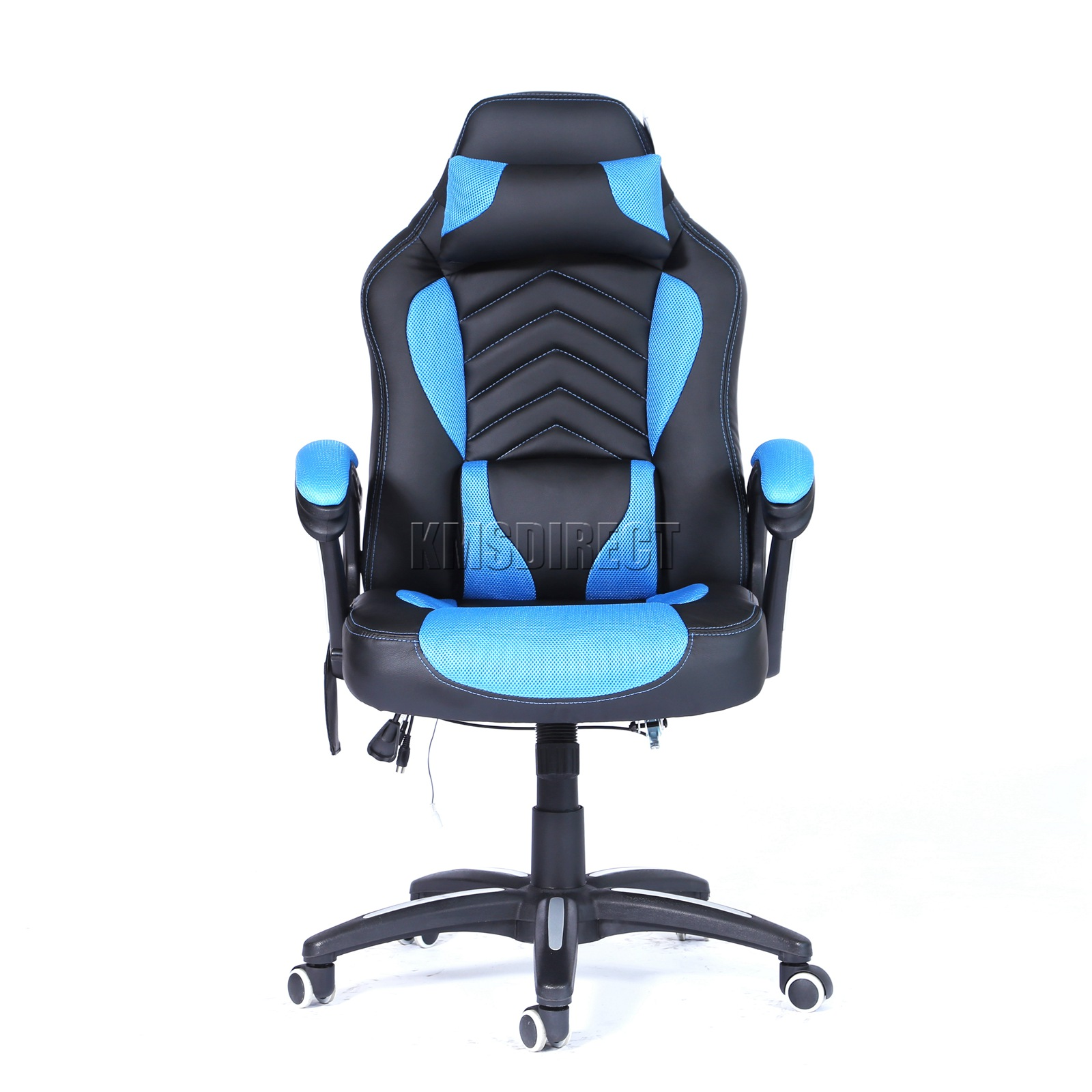 WestWood-Heated-Massage-Office-Chair-Gaming-amp-Computer-Recliner-Swivel-MC09 thumbnail 14