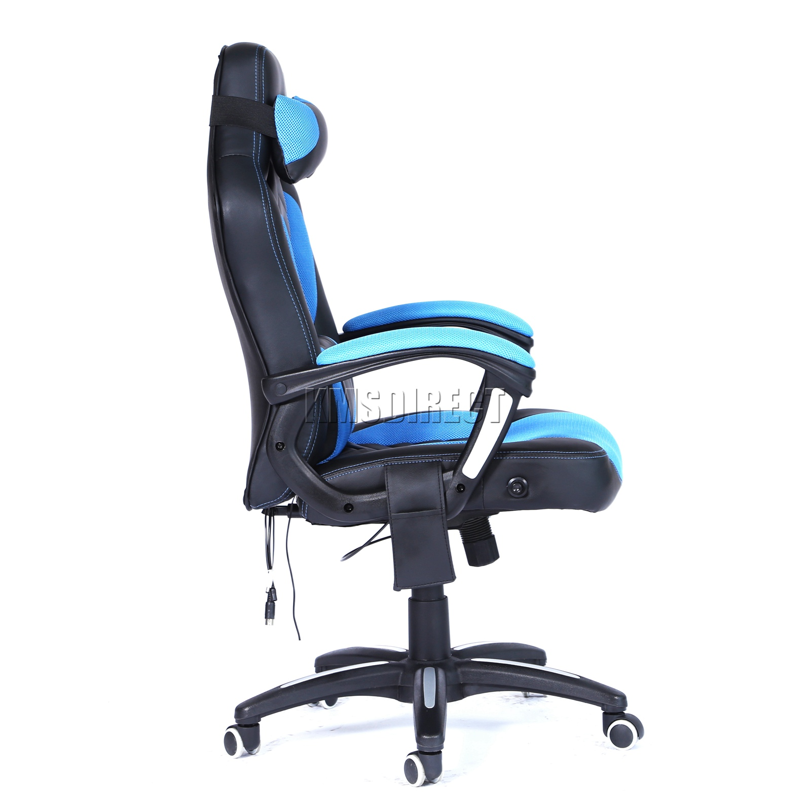 WestWood-Heated-Massage-Office-Chair-Gaming-amp-Computer-Recliner-Swivel-MC09 thumbnail 16