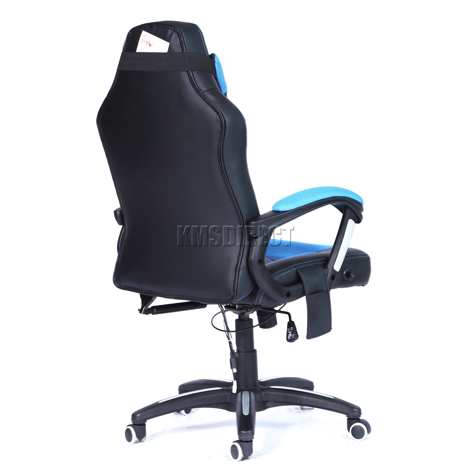 WestWood-Heated-Massage-Office-Chair-Gaming-amp-Computer-Recliner-Swivel-MC09 thumbnail 17
