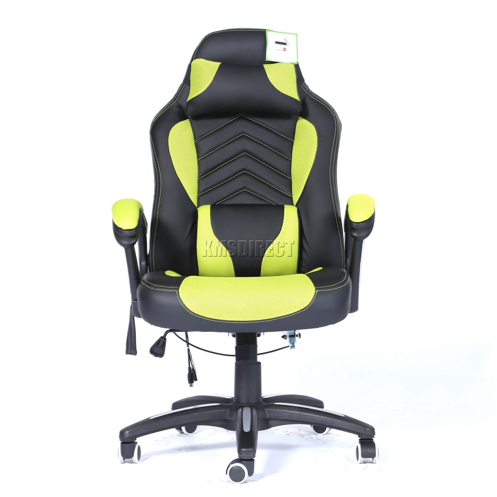 WestWood-Heated-Massage-Office-Chair-Gaming-amp-Computer-Recliner-Swivel-MC09 thumbnail 20