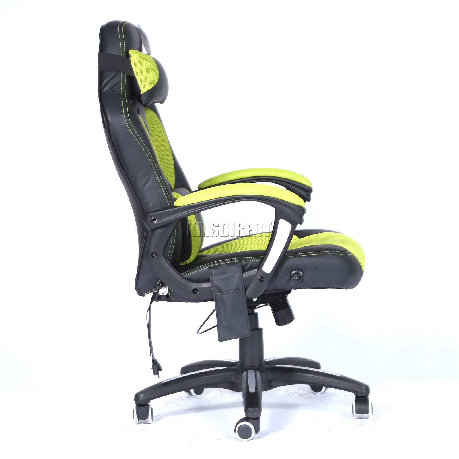 WestWood-Heated-Massage-Office-Chair-Gaming-amp-Computer-Recliner-Swivel-MC09 thumbnail 22