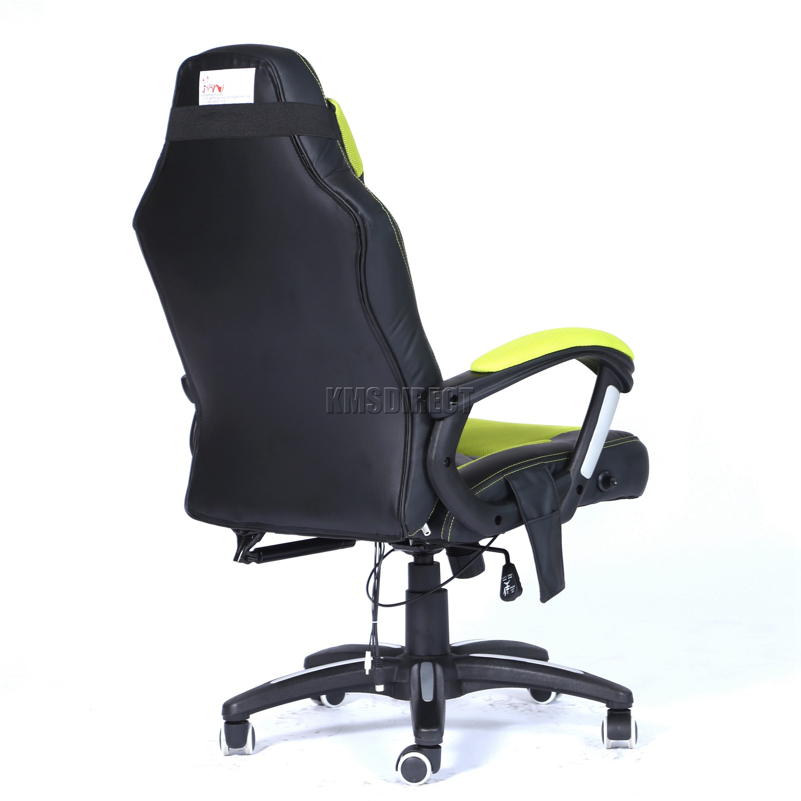 WestWood-Heated-Massage-Office-Chair-Gaming-amp-Computer-Recliner-Swivel-MC09 thumbnail 23