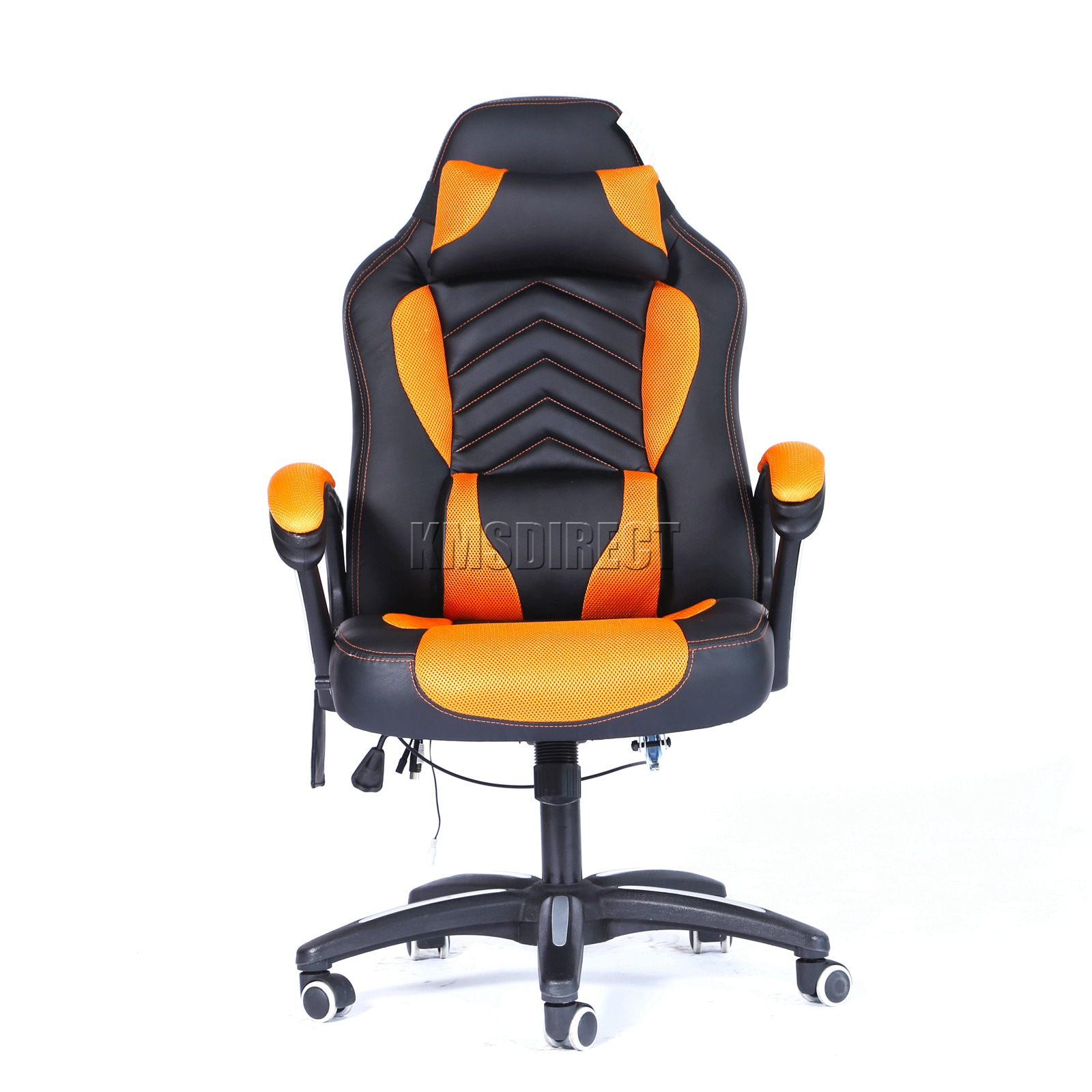 WestWood-Heated-Massage-Office-Chair-Gaming-amp-Computer-Recliner-Swivel-MC09 thumbnail 26