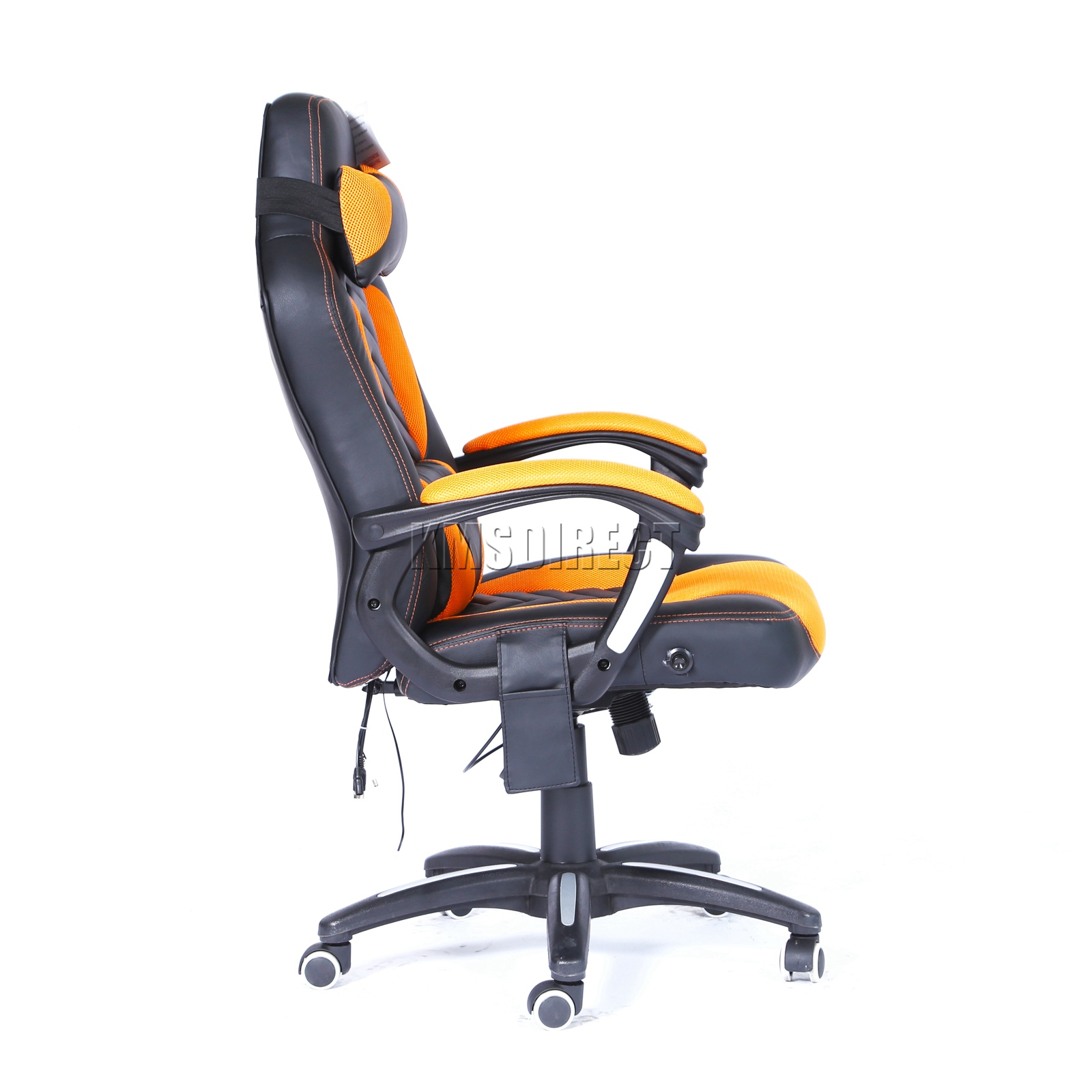 WestWood-Heated-Massage-Office-Chair-Gaming-amp-Computer-Recliner-Swivel-MC09 thumbnail 28