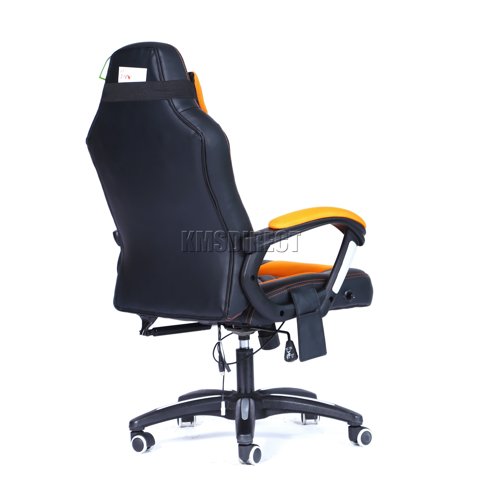 WestWood-Heated-Massage-Office-Chair-Gaming-amp-Computer-Recliner-Swivel-MC09 thumbnail 29