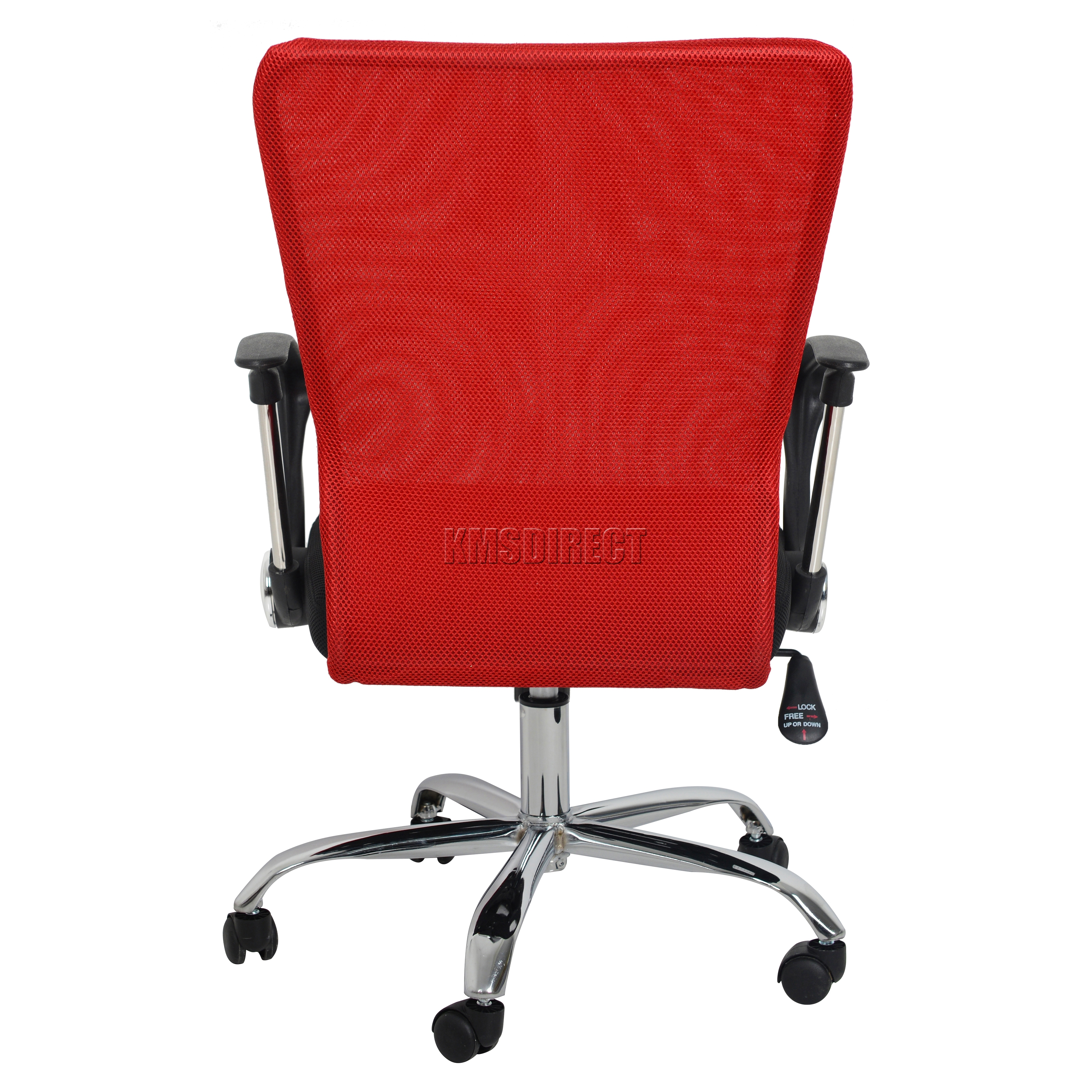 Sentinel Foxhunter Computer Executive Office Desk Chair Mesh Fabric Swivel High Back Oc11