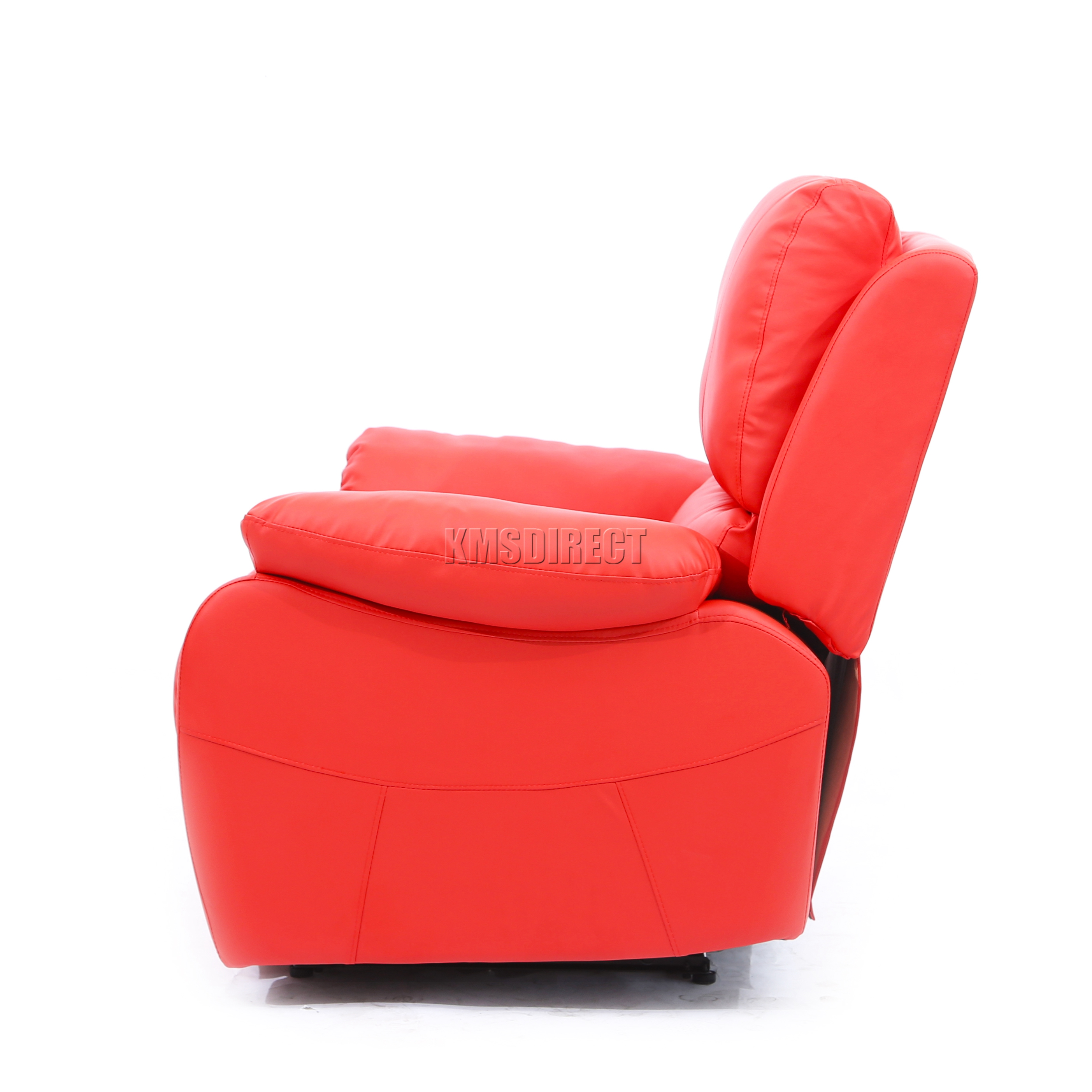 foxhunter luxe 1 place cuir cinema fauteuil inclinable canap chaise rs01 rouge ebay. Black Bedroom Furniture Sets. Home Design Ideas