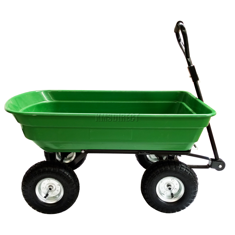 Village Green Garden Dump Cart - Garden Designs