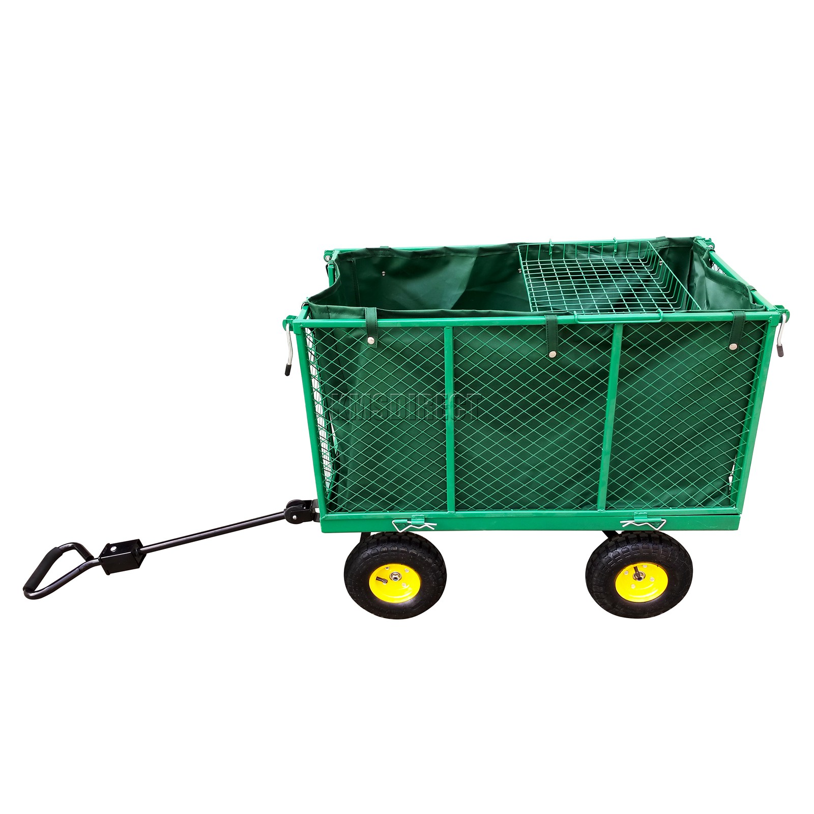 FoxHunter-Heavy-Duty-Garden-Dump-Truck-Tipping-Trailer-Trolley-Cart-Wheelbarrow miniatuur 16