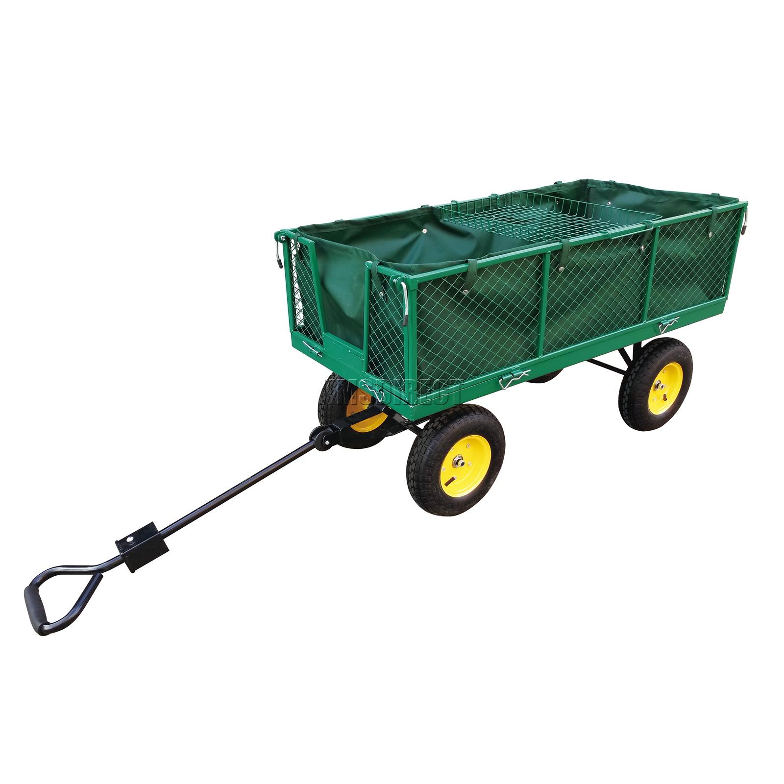 FoxHunter-Heavy-Duty-Garden-Dump-Truck-Tipping-Trailer-Trolley-Cart-Wheelbarrow miniatuur 26