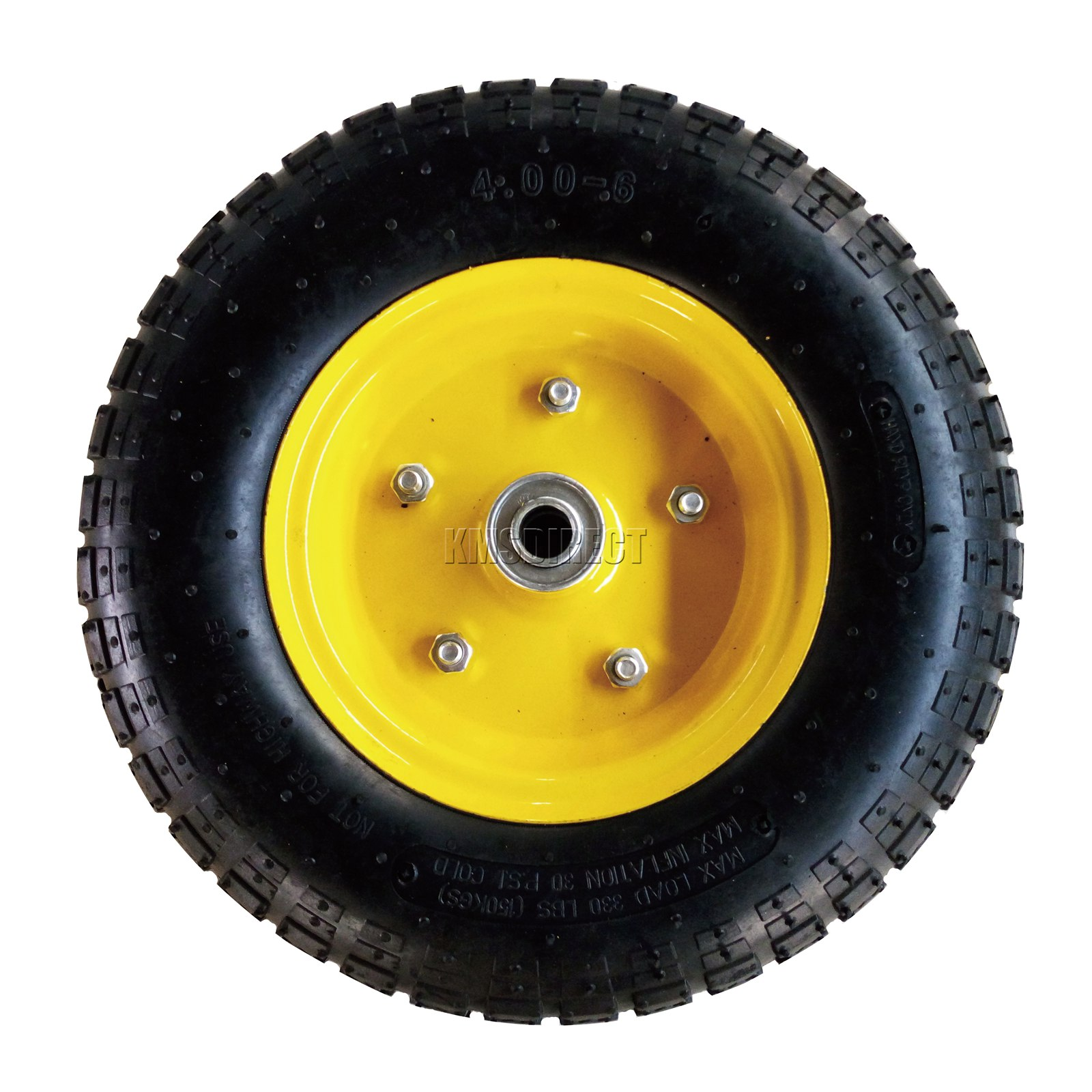 FoxHunter-Heavy-Duty-Garden-Dump-Truck-Tipping-Trailer-Trolley-Cart-Wheelbarrow miniatuur 27