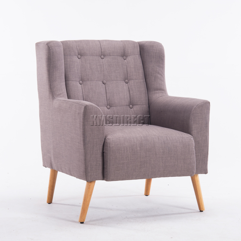 Westwood-lin-tissu-Bac-chaise-fauteuil-sejour-salle-a-manger-salon-bureau-TC05
