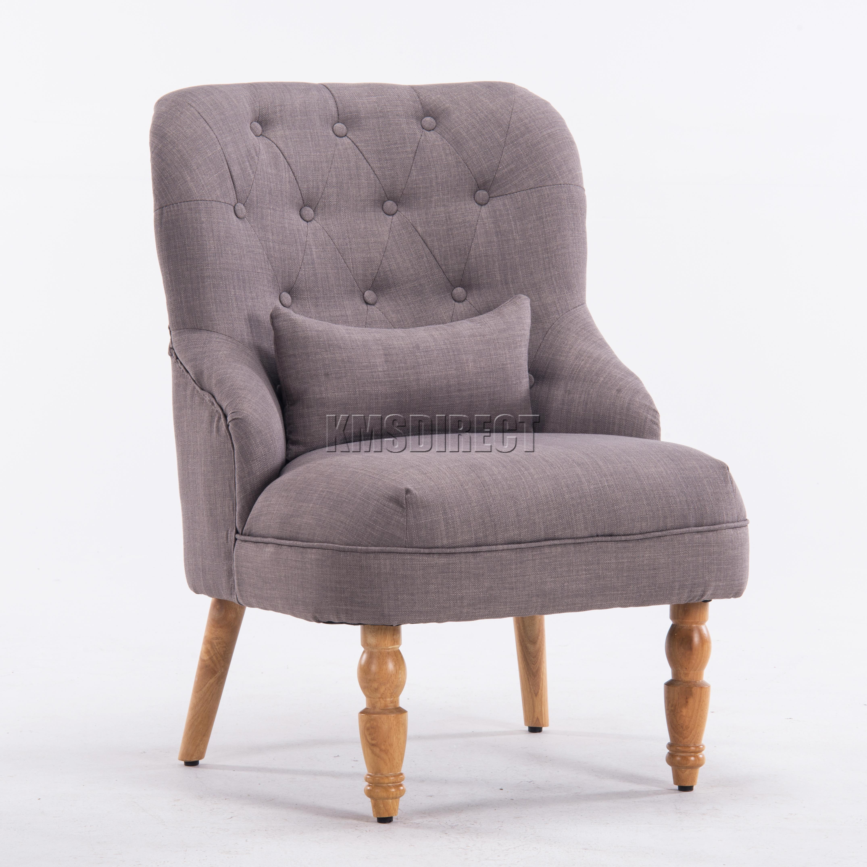 Westwood-lin-tissu-Bac-chaise-fauteuil-sejour-salle-a-manger-salon-bureau-TC06