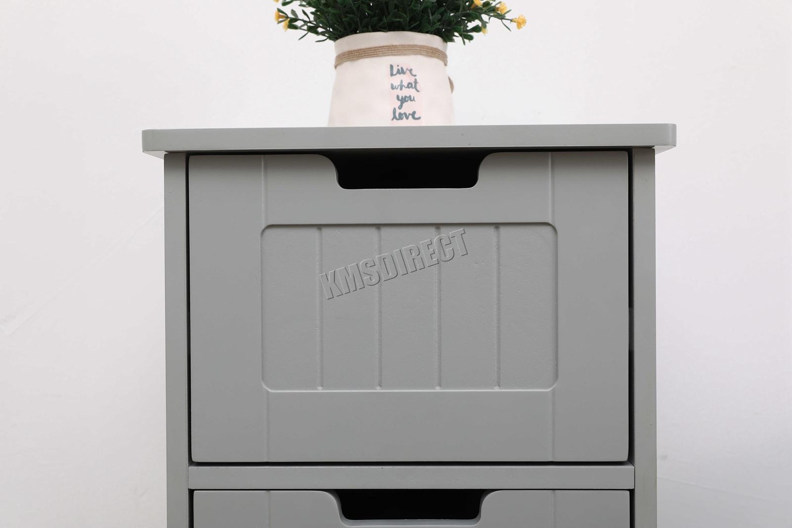 Westwood in legno bianco cassetto magazzino per bagno credenza