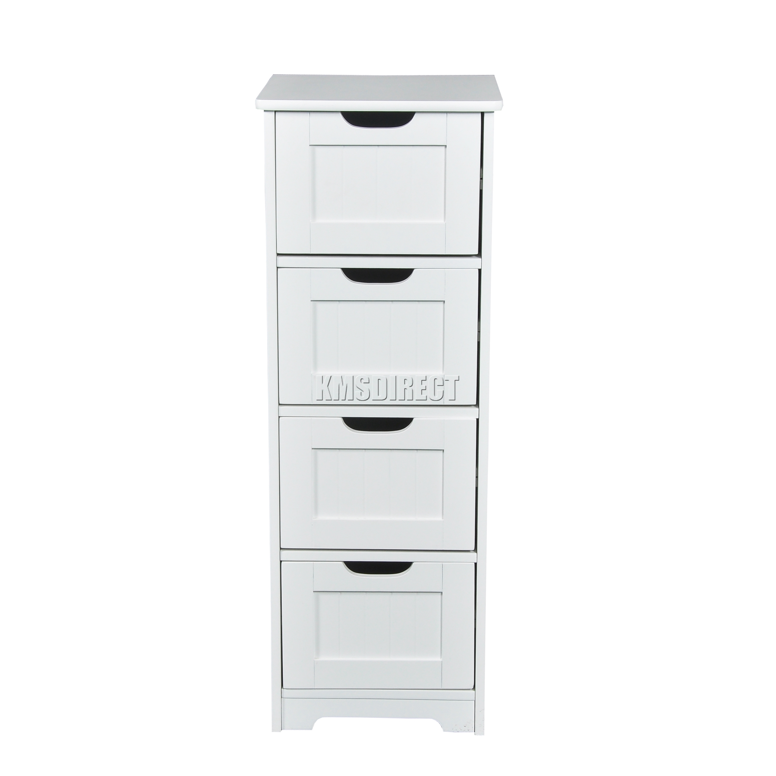 white bathroom storage cabinet with drawer foxhunter white wooden 4 drawer bathroom storage cupboard 28487