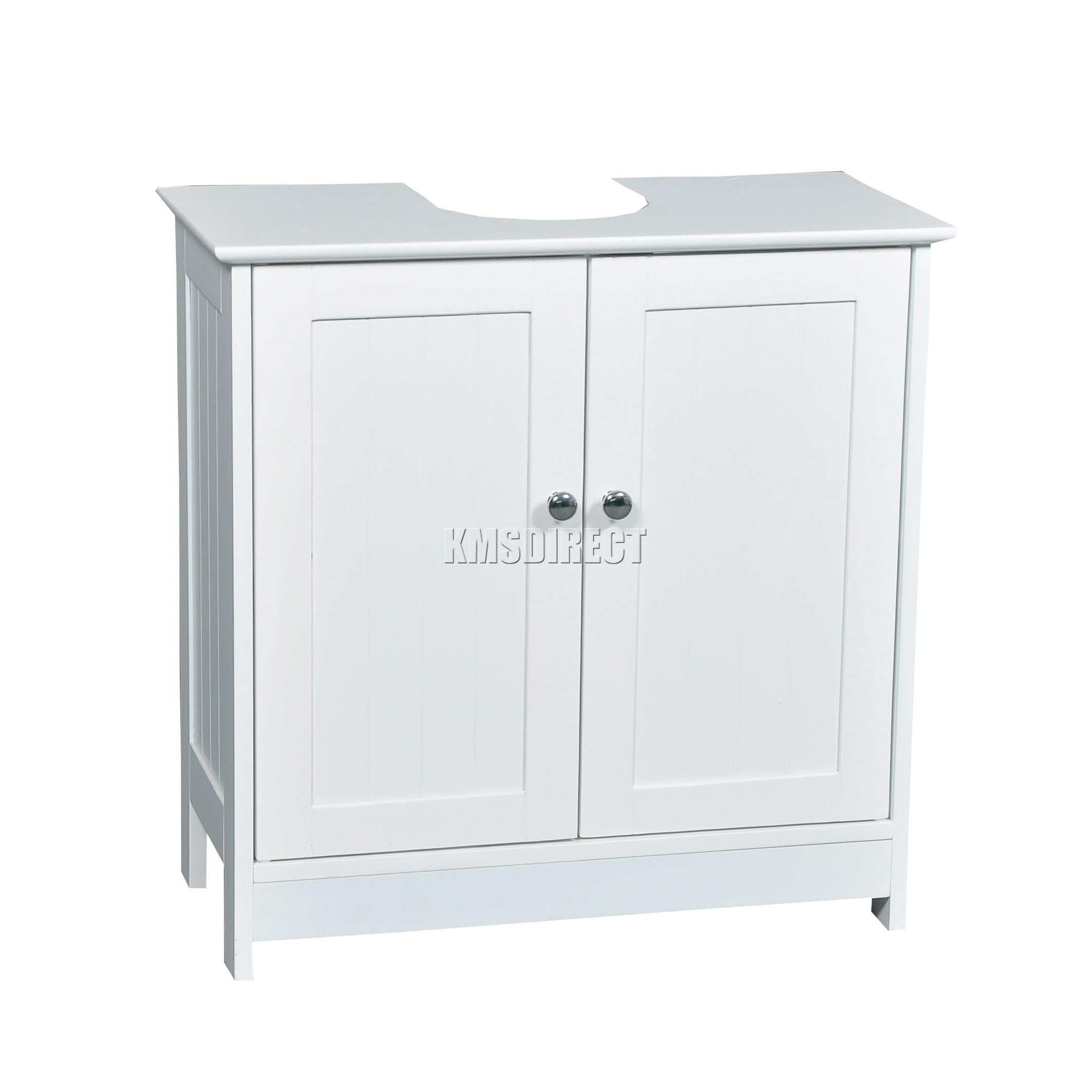 WestWood Vanity Unit Wooden Under Sink Wash Basin Bathroom Cabinet ...