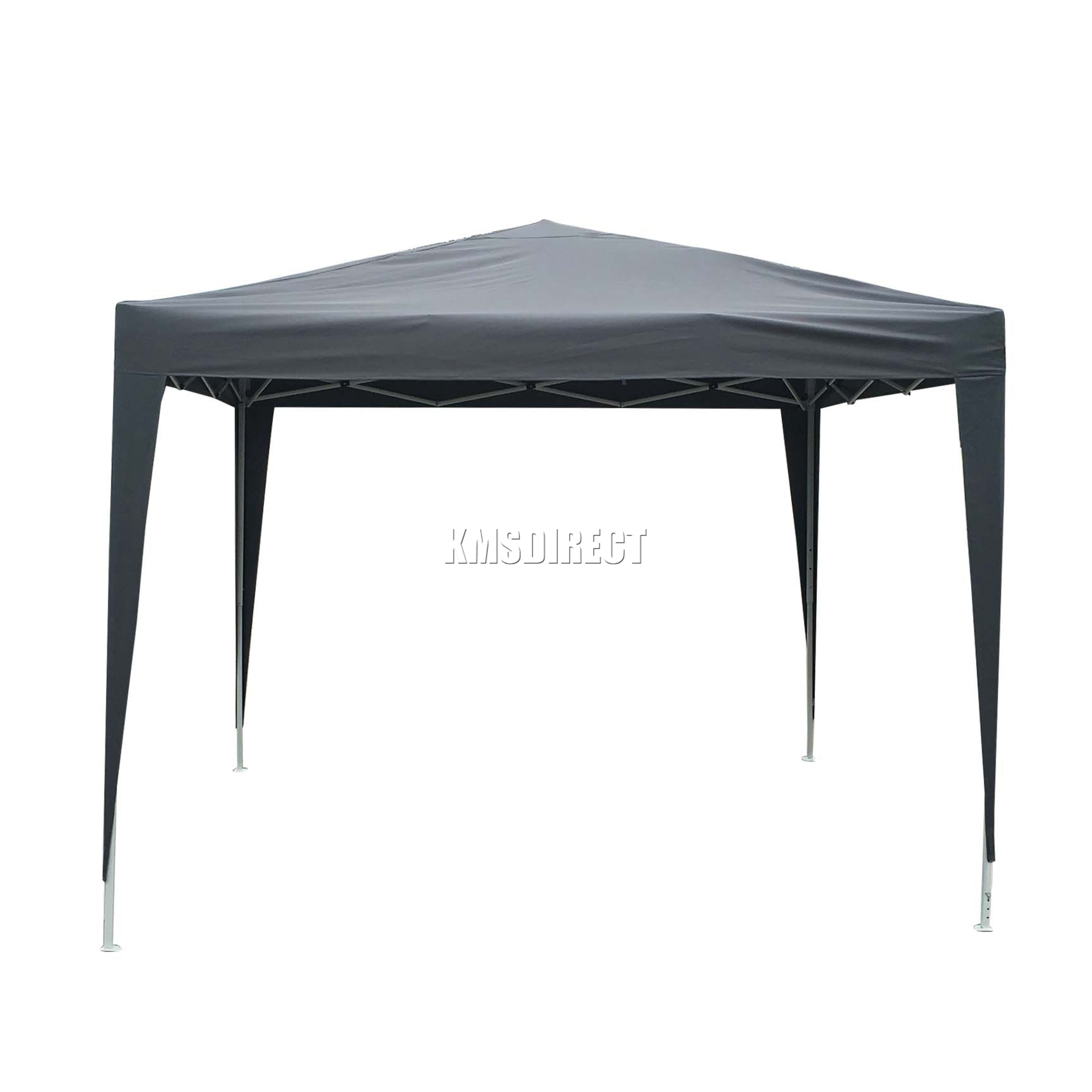 gazebo pop up. sentinel foxhunter waterproof 3x3m pop up gazebo marquee garden awning party tent grey