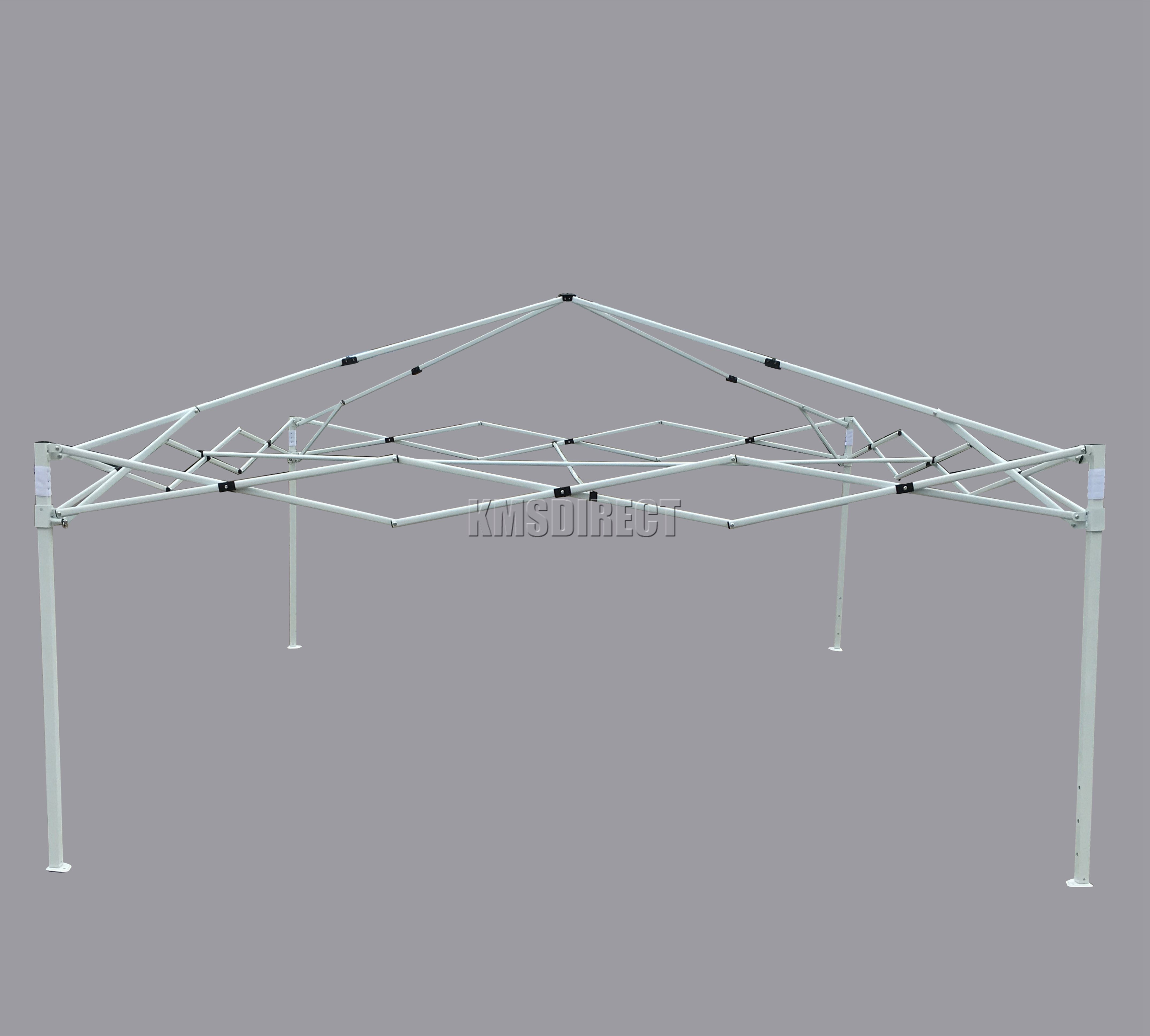 Sentinel FoxHunter Waterproof 3x3m Pop Up Gazebo Marquee Garden Awning Party Tent Grey