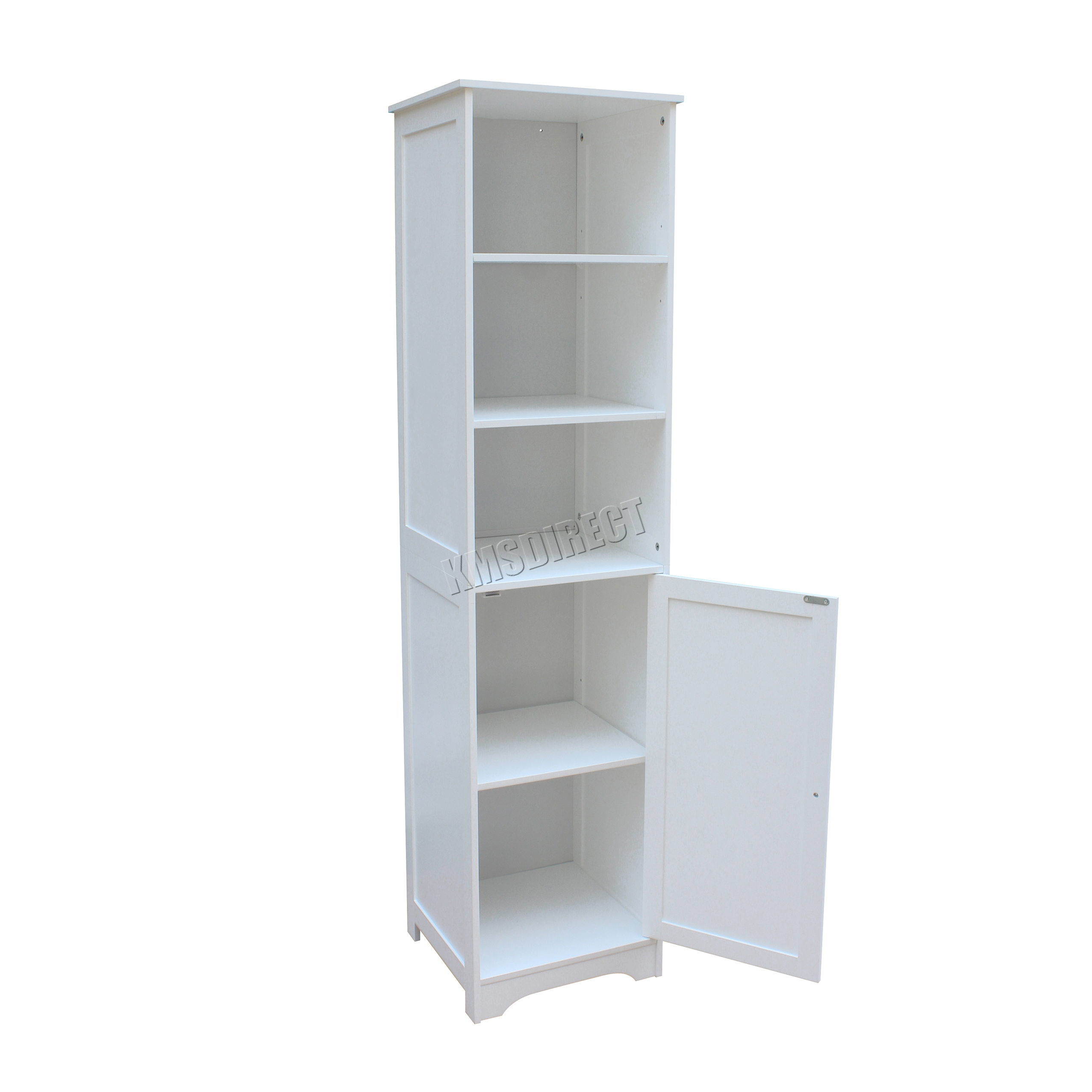 Westwood wall mount wooden bathroom cabinet tall shelving for Bathroom cabinets 40cm wide