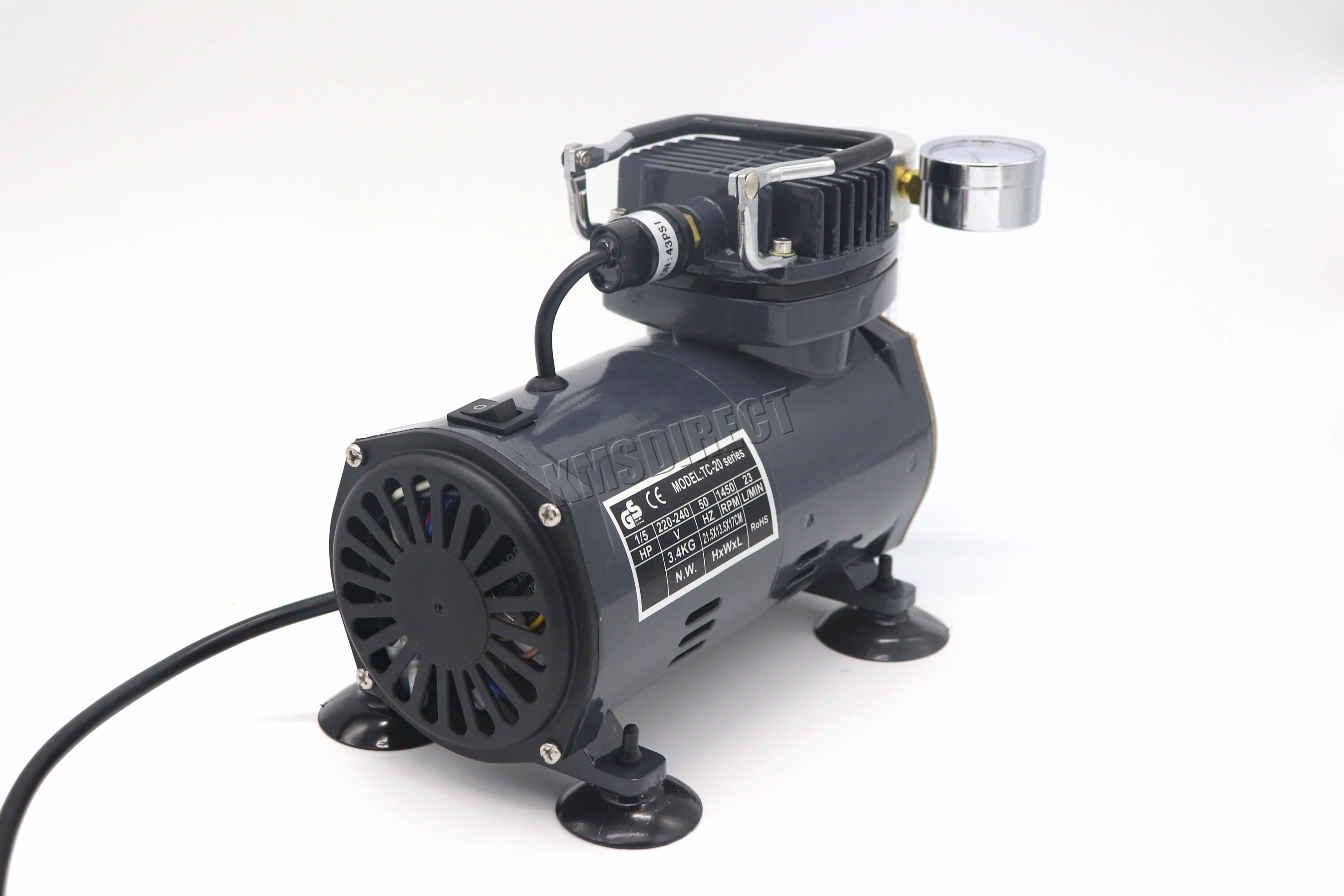 Switzer as18 airbrush with compressor double action air for Air compressor for pool closing