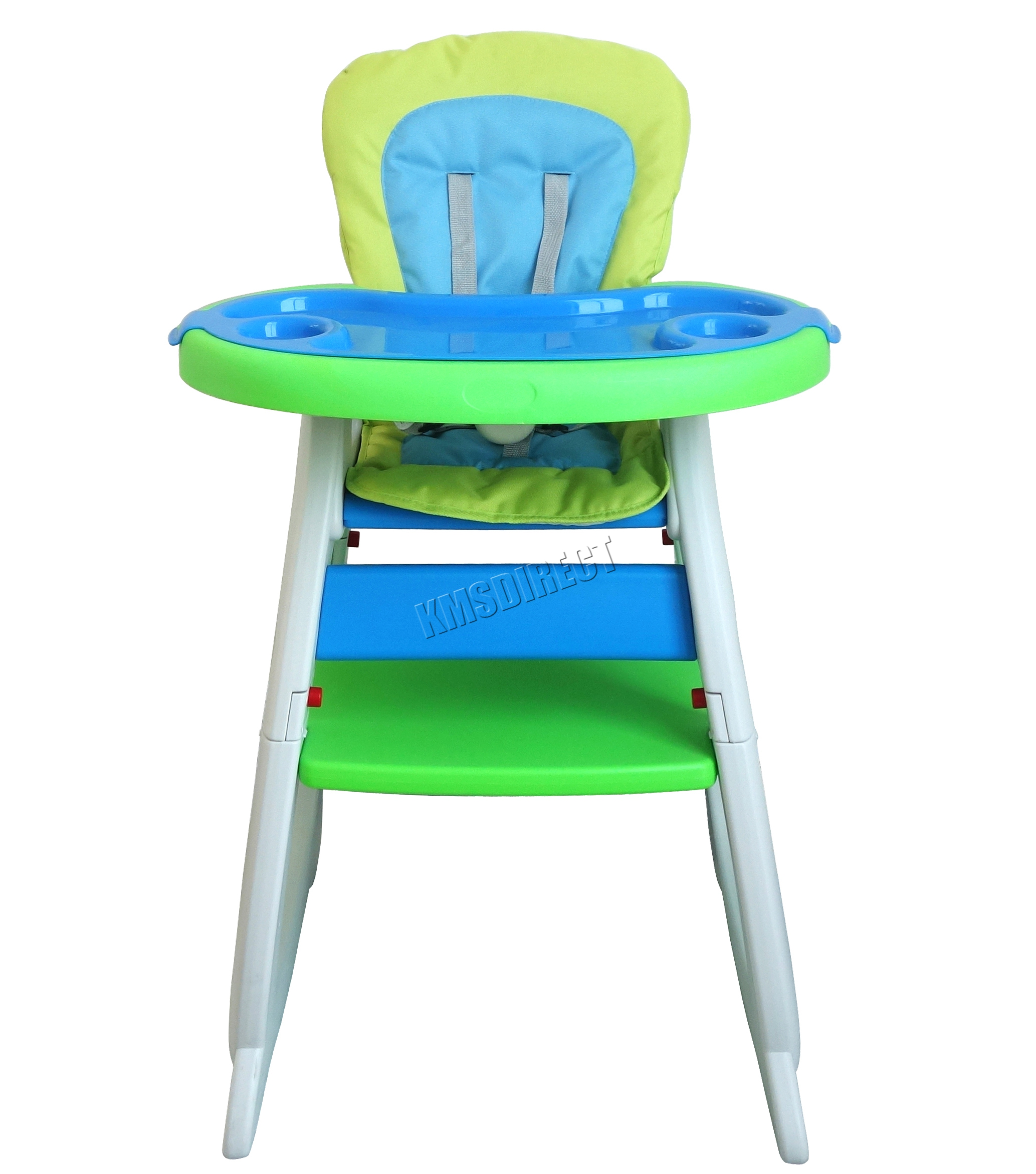 Foxhunter baby highchair infant high feeding seat 3in1 for Toddler table
