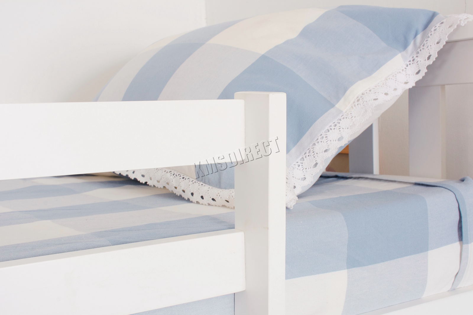 Picture of: Westwood New Detachable Bunk Beds Wood Frame Children S Bed No Mattress 5055418322584 Ebay