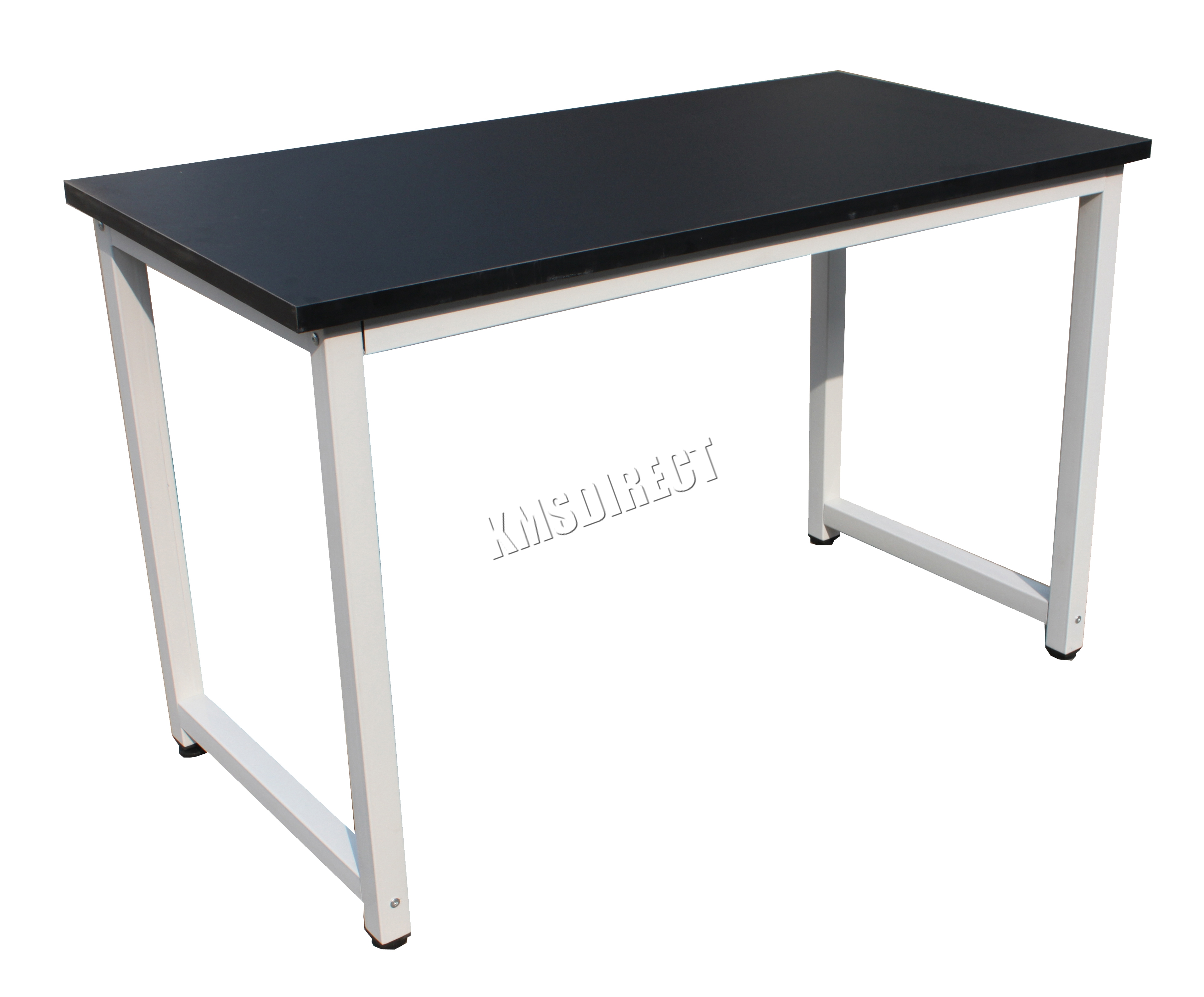 Sentinel Westwood Pc Computer Desk Corner Wooden Desktop Table Office Workstation Black