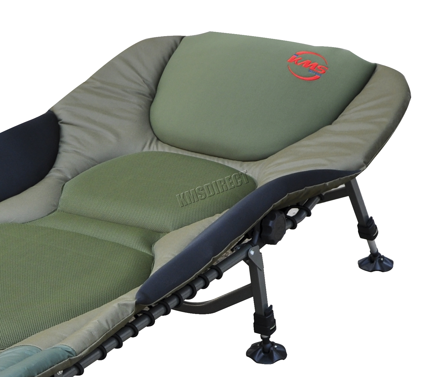 Portable Carp Fishing Bed Chair Bedchair Camping 8