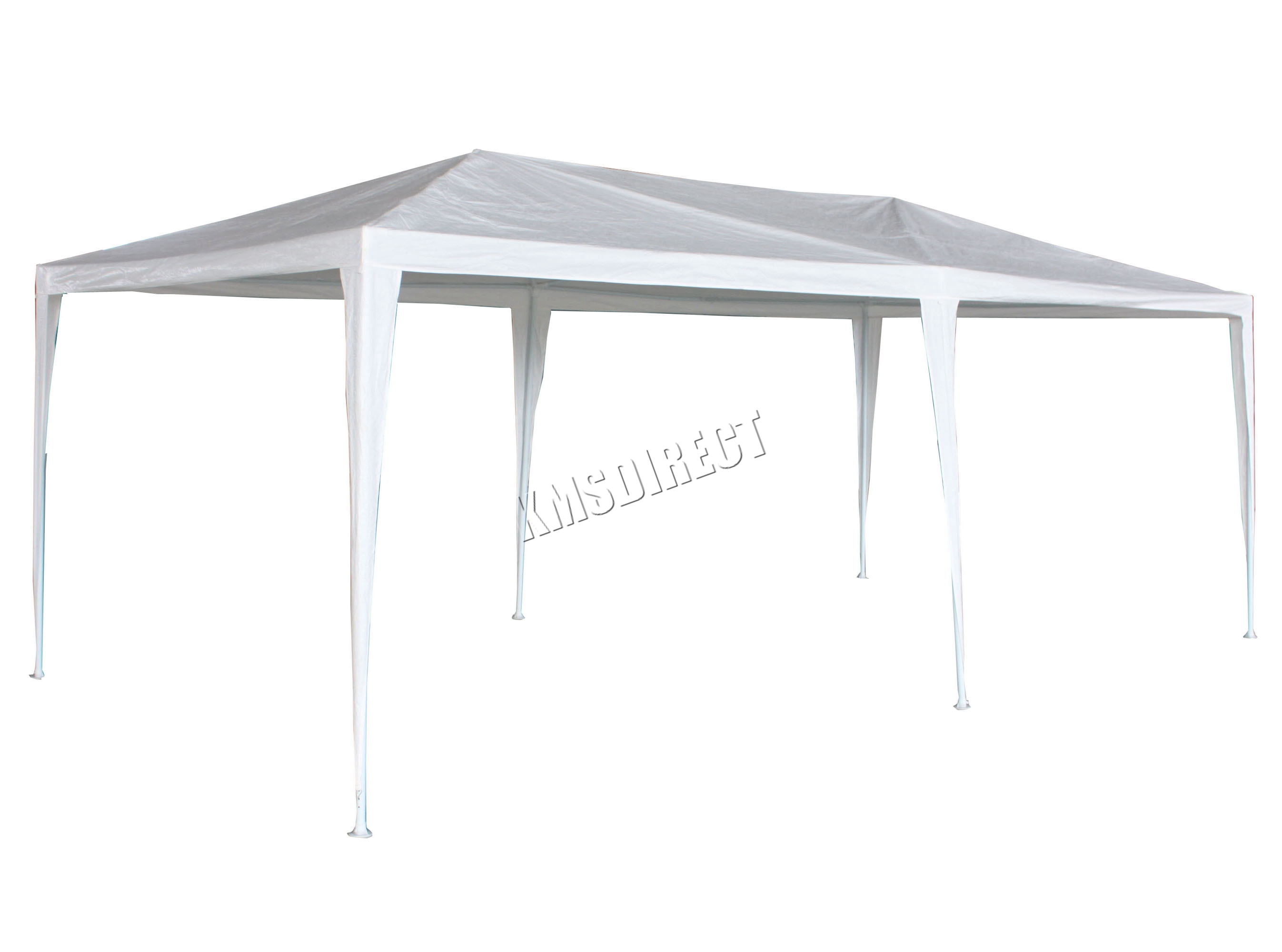Sentinel 3m x 6m White Waterproof Outdoor Garden Gazebo Party Tent Marquee 2 SUPPORT BEAM  sc 1 st  eBay & 3m x 6m White Waterproof Outdoor Garden Gazebo Party Tent Marquee ...