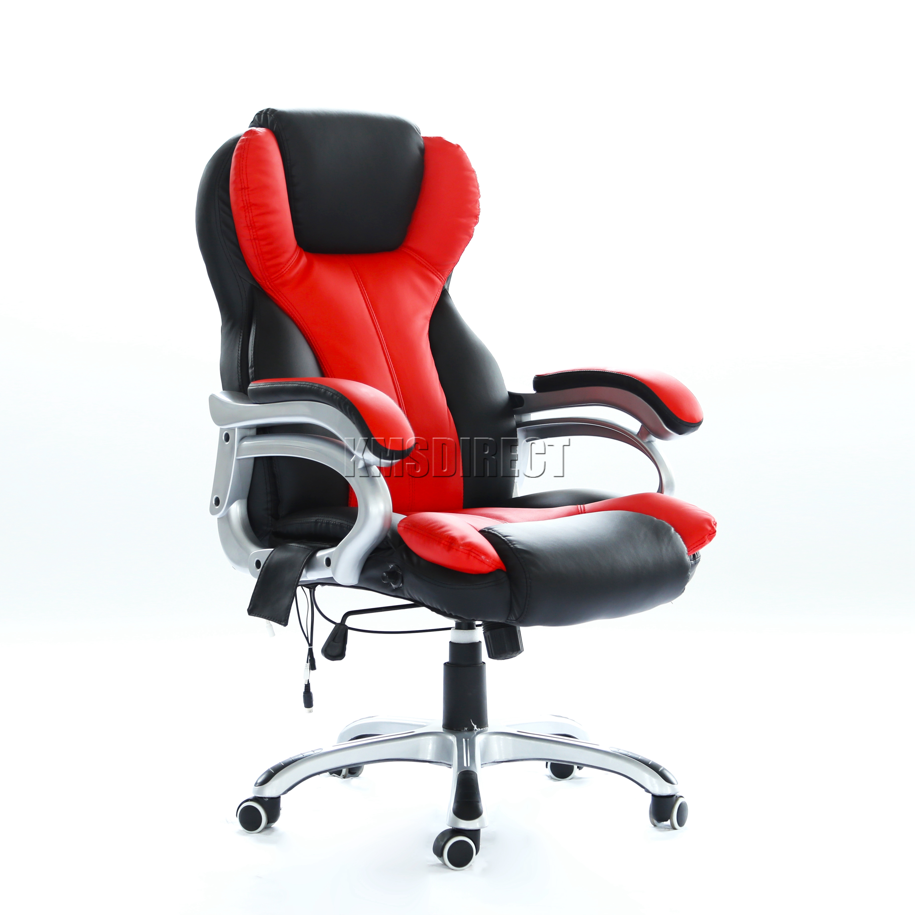 Sentinel FoxHunter Luxury 6 Point Massage Office Computer Chair Reclining MC8074 Red New