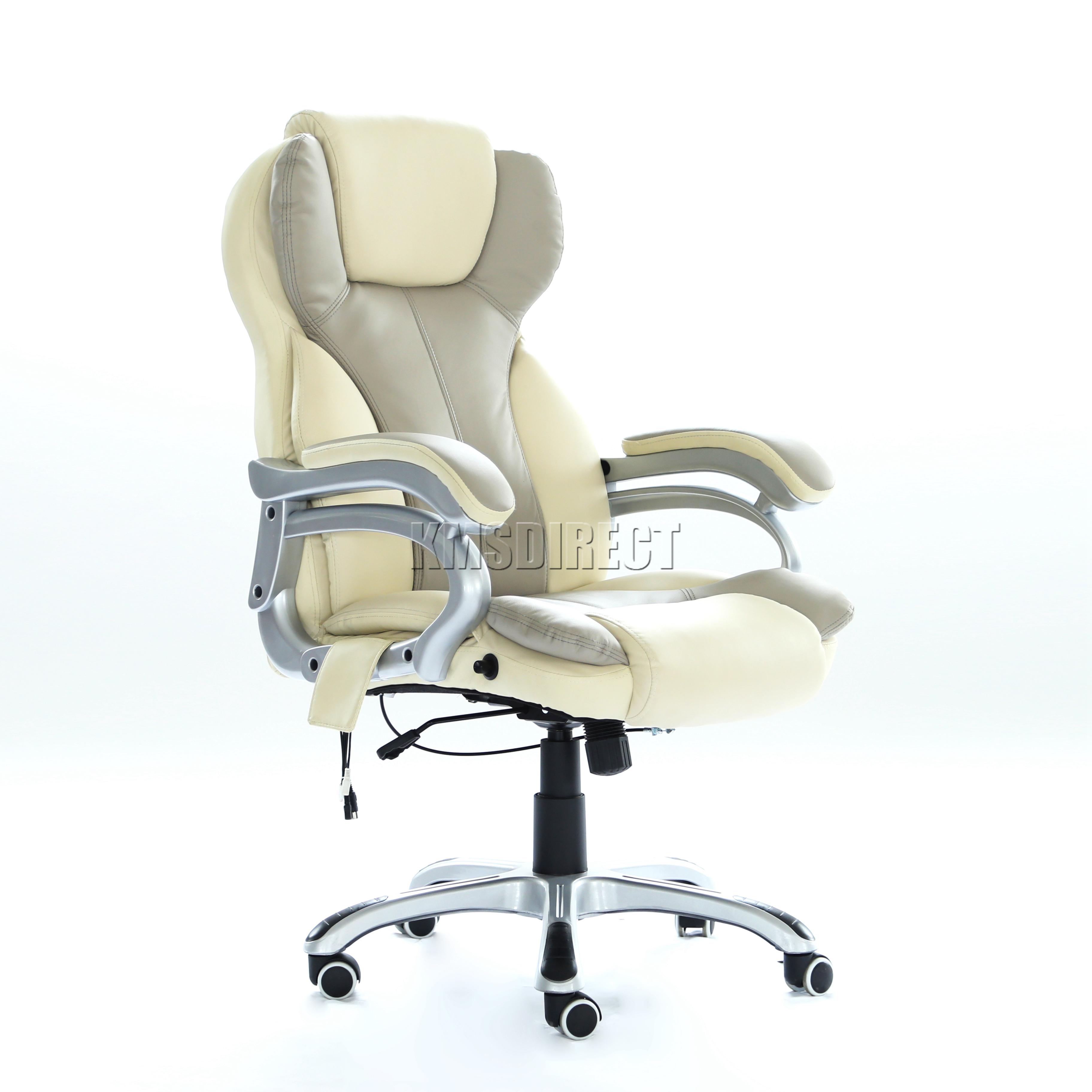 FoxHunter Luxury 6 Point Massage fice puter Chair Reclining
