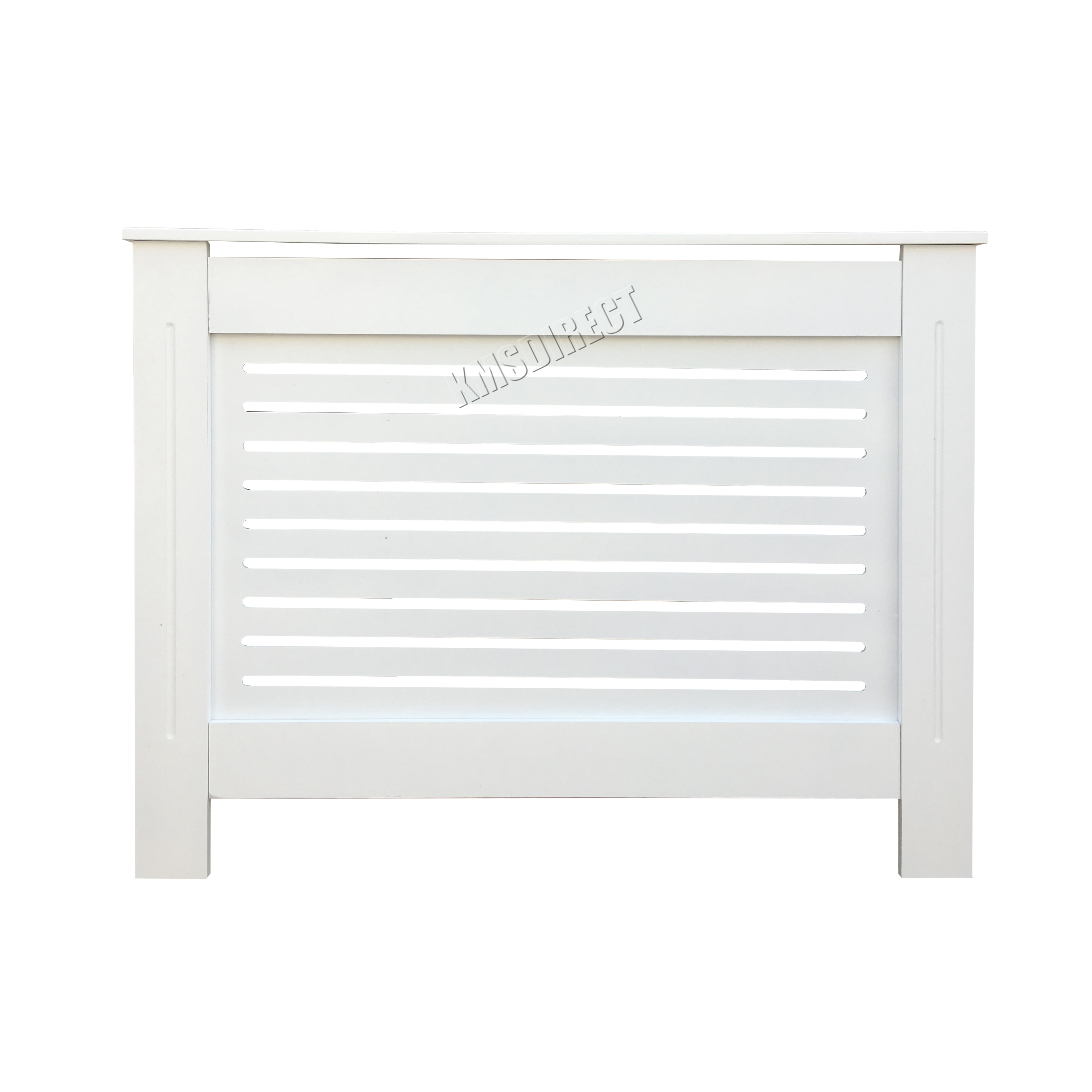 Painting Mdf Kitchen Cabinets White: FoxHunter White Painted Radiator Cover Wall Cabinet Wood