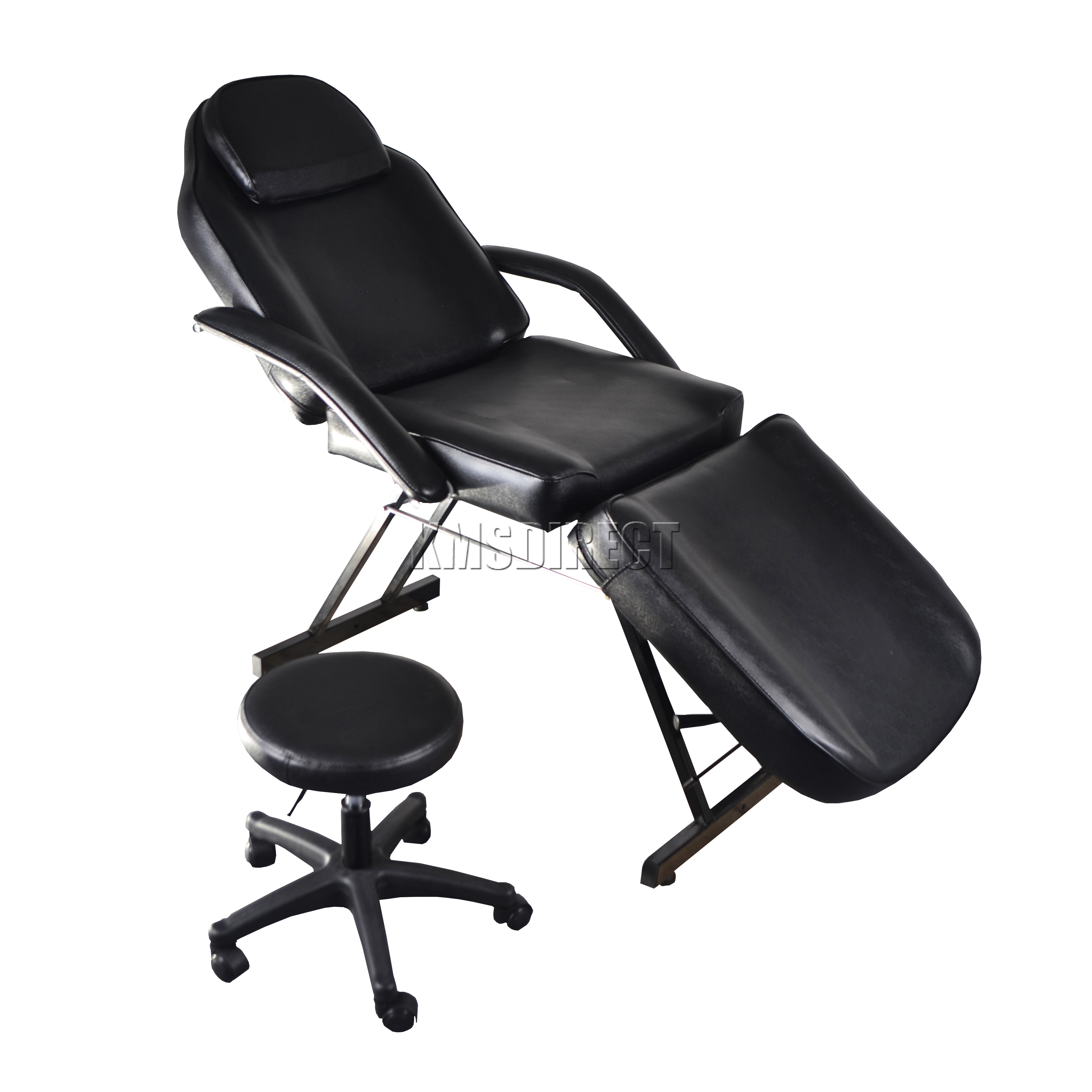 Foxhunter beauty salon chair massage table tattoo therapy for Therapeutic massage chair reviews