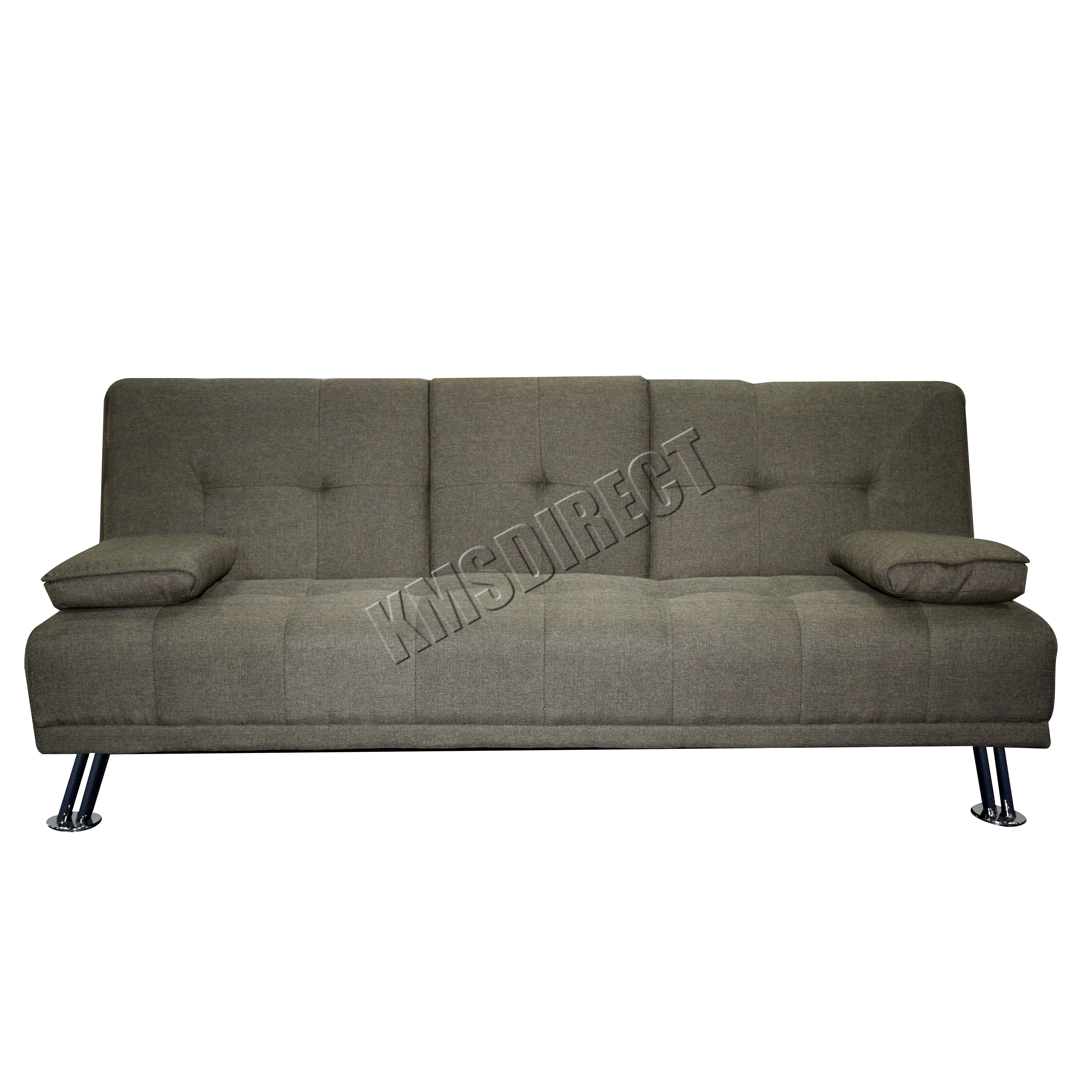 WestWood Fabric Manhattan Sofa Bed Recliner 3 Seater ...
