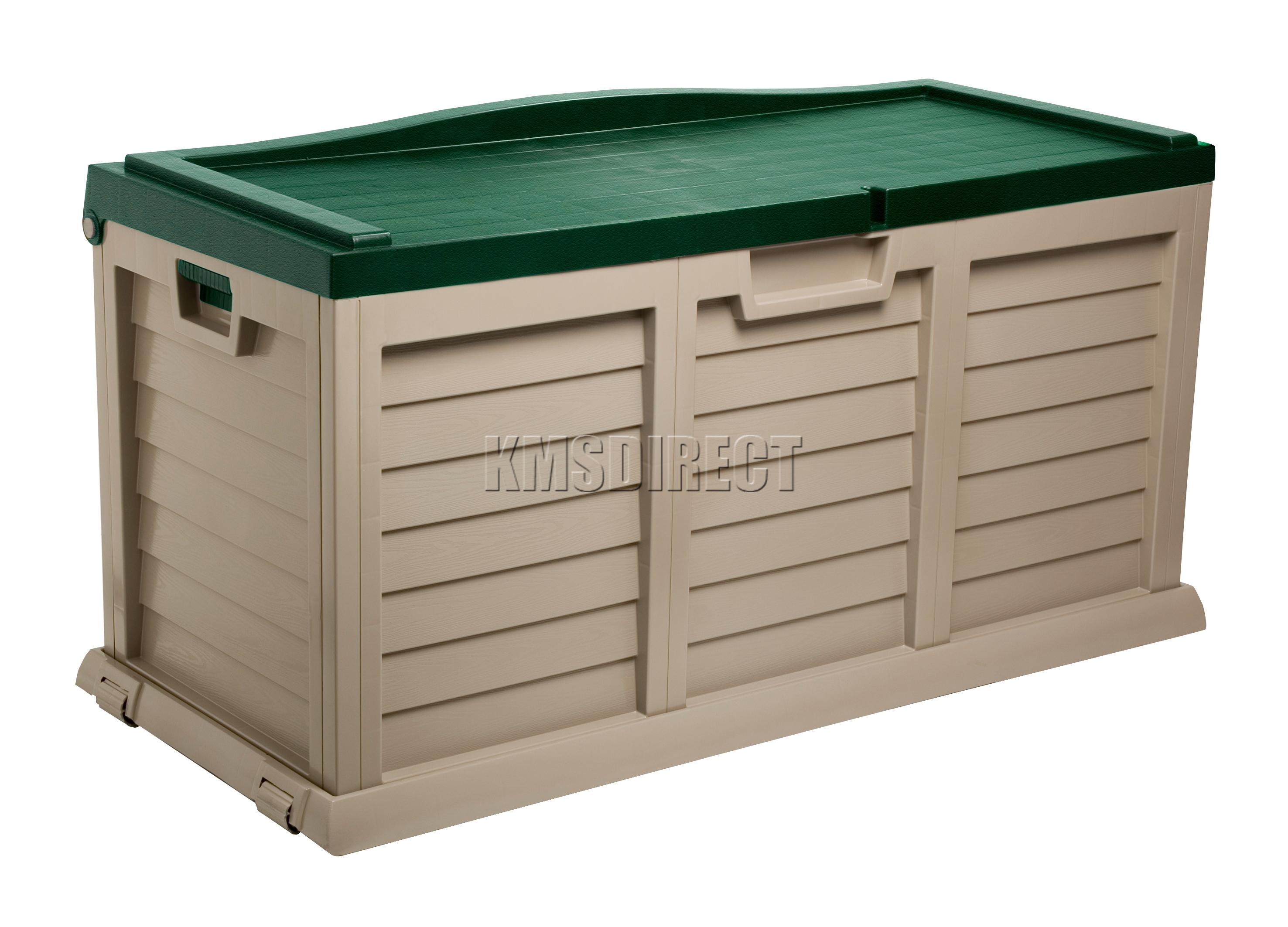 Starplast Outdoor Garden Storage Utility Chest Cushion Box