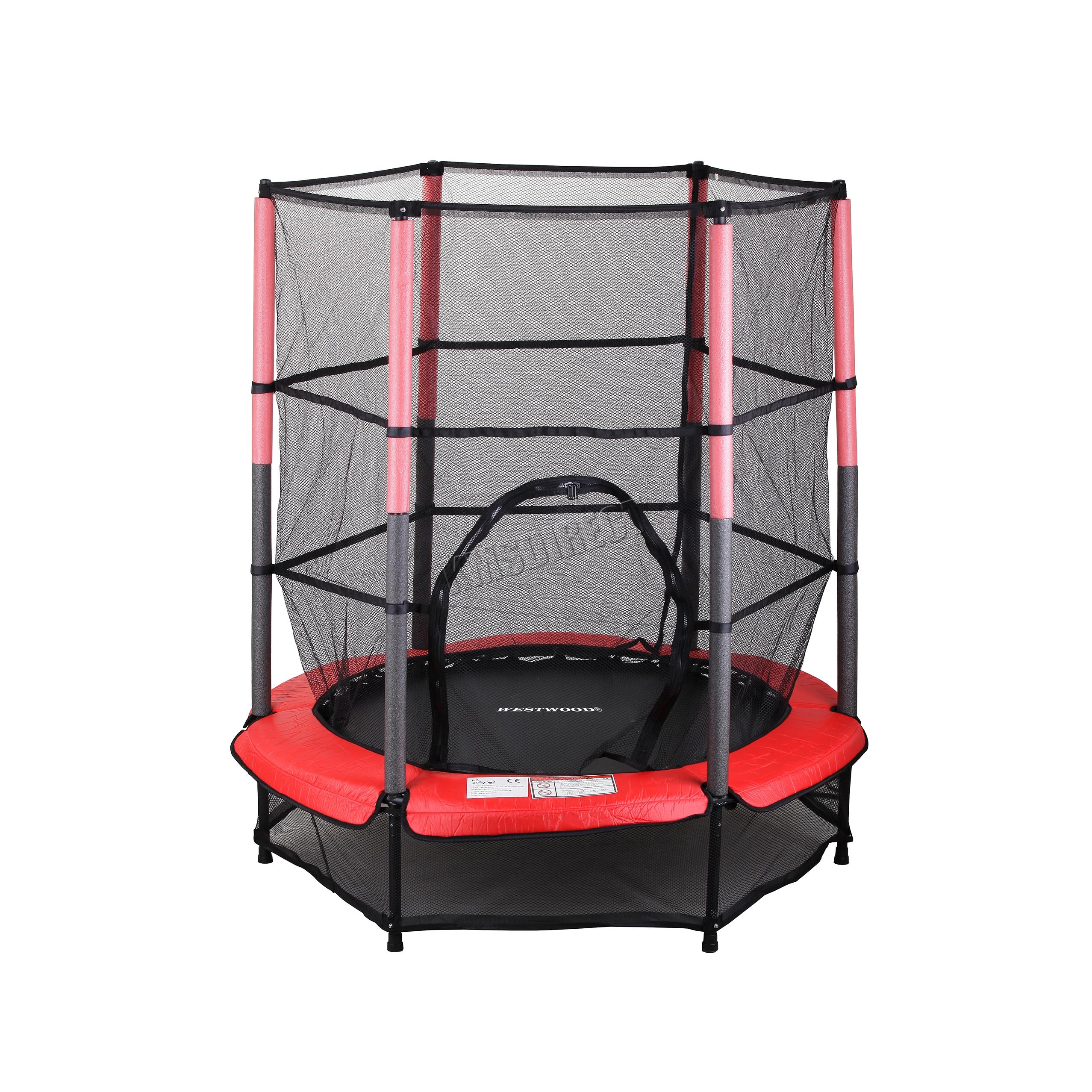 Westwood Children S Mini Trampoline With Safety Net 4