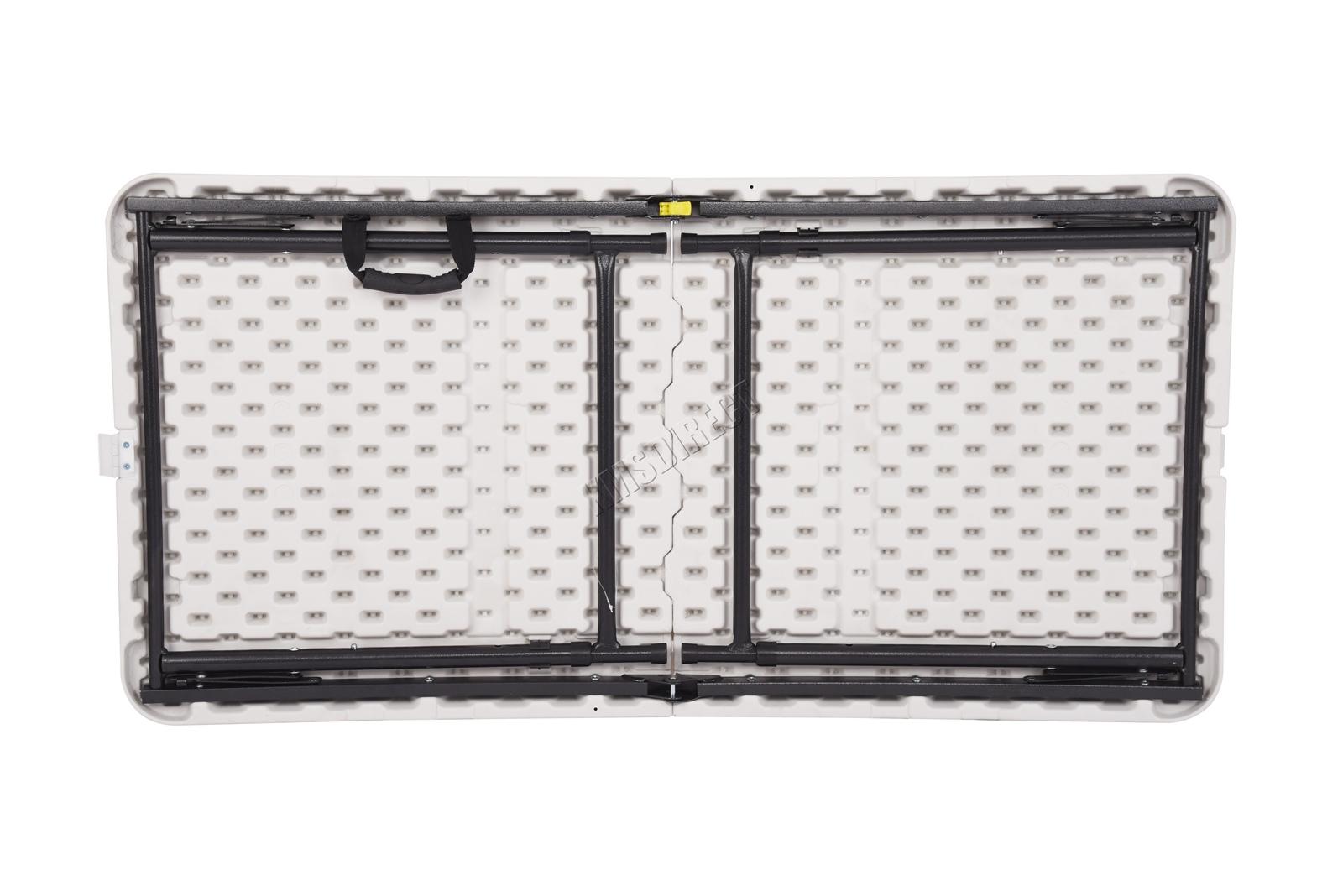 Westwood Portable Folding Trestle Table Heavy Duty Plastic