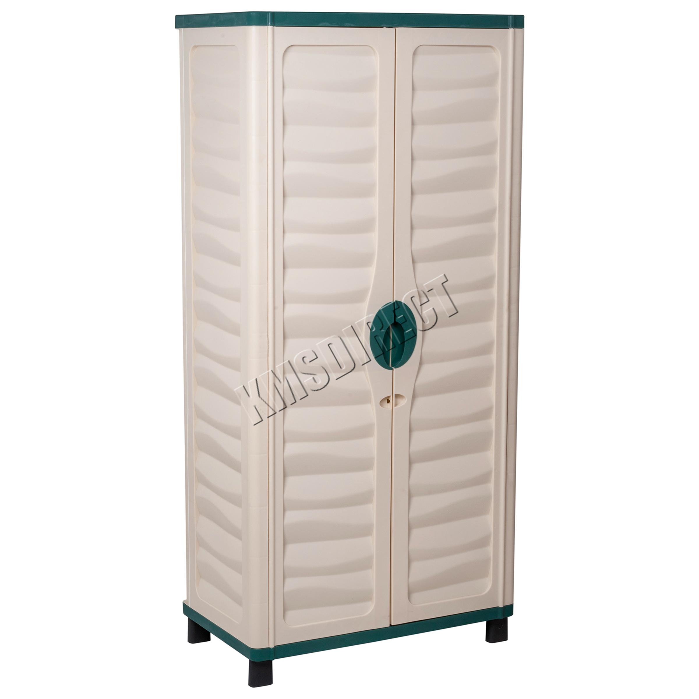 Starplast wide utility cabinet with partition cabinets matttroy - Green kitchen cabinets storage ...