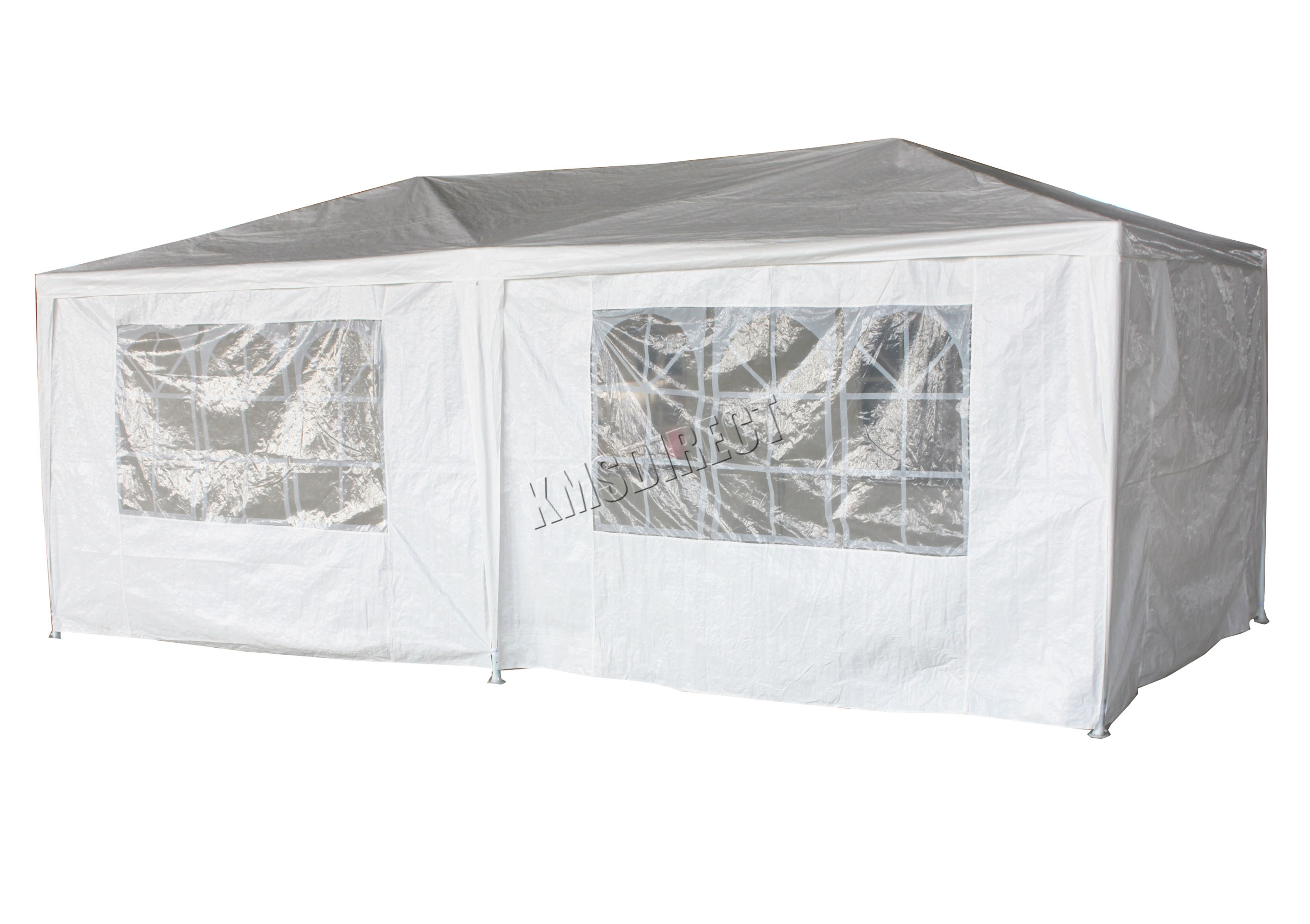 Foxhunter 6m X 3m Party Tent Marquee Gazebo Two Support
