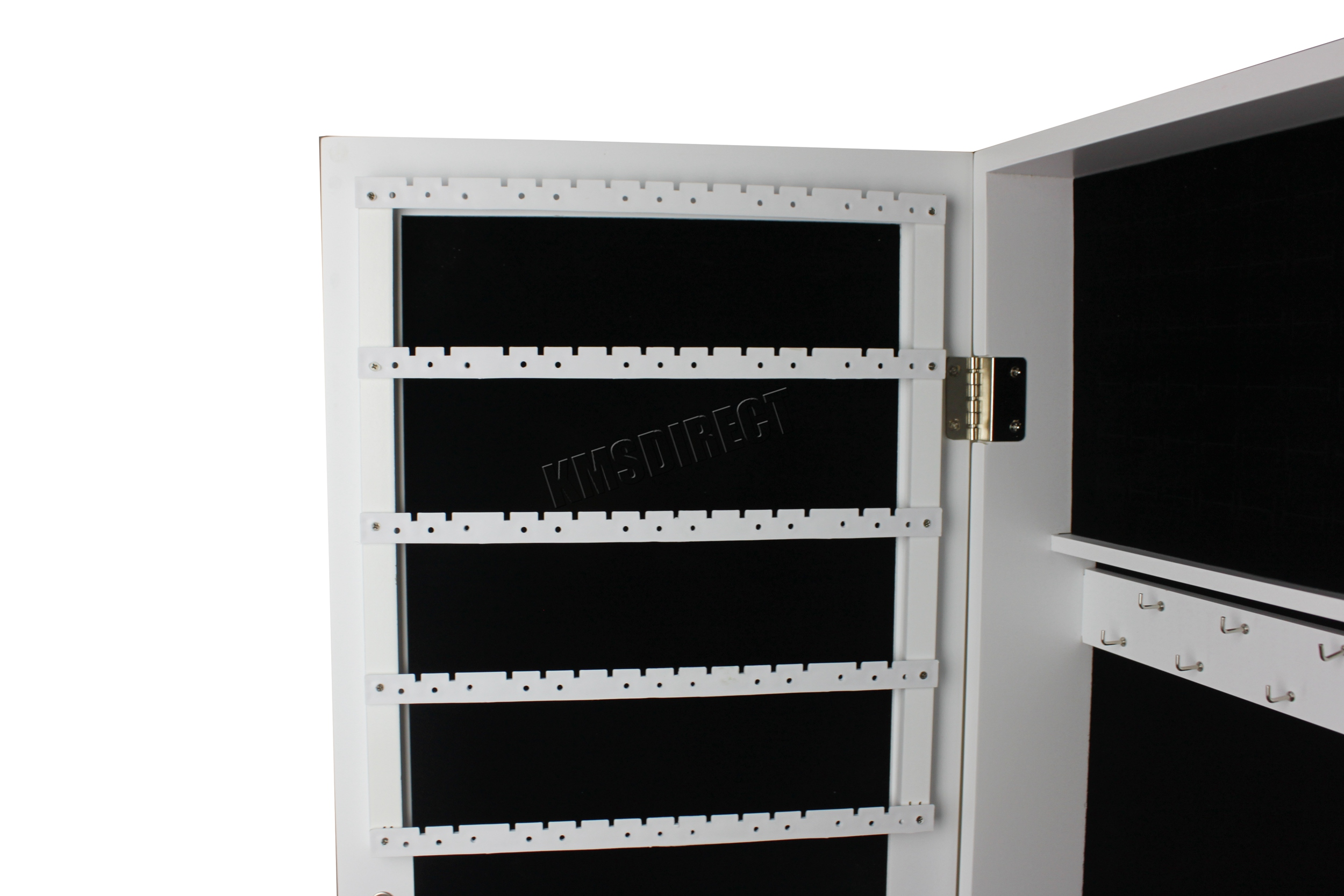 WestWood-Standing-Mirror-Armoire-Make-Up-Jewelry-Box-Cabinet-Storage-Lockable