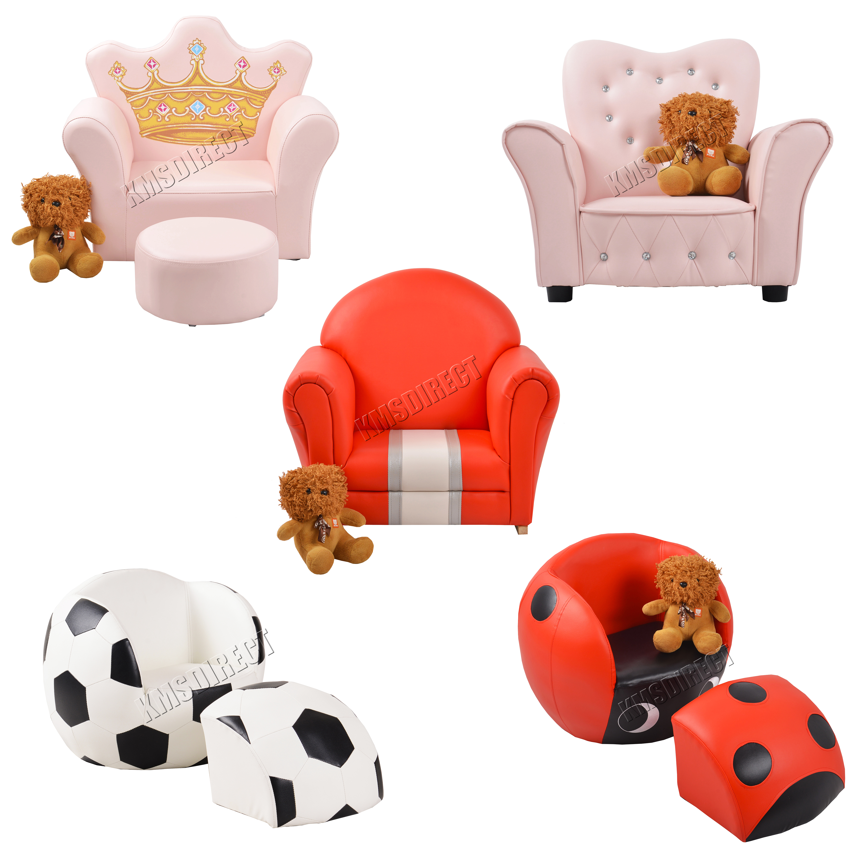 Foxhunter kids armchair games chair boys girls sofa - Tela tapizado sofa ...