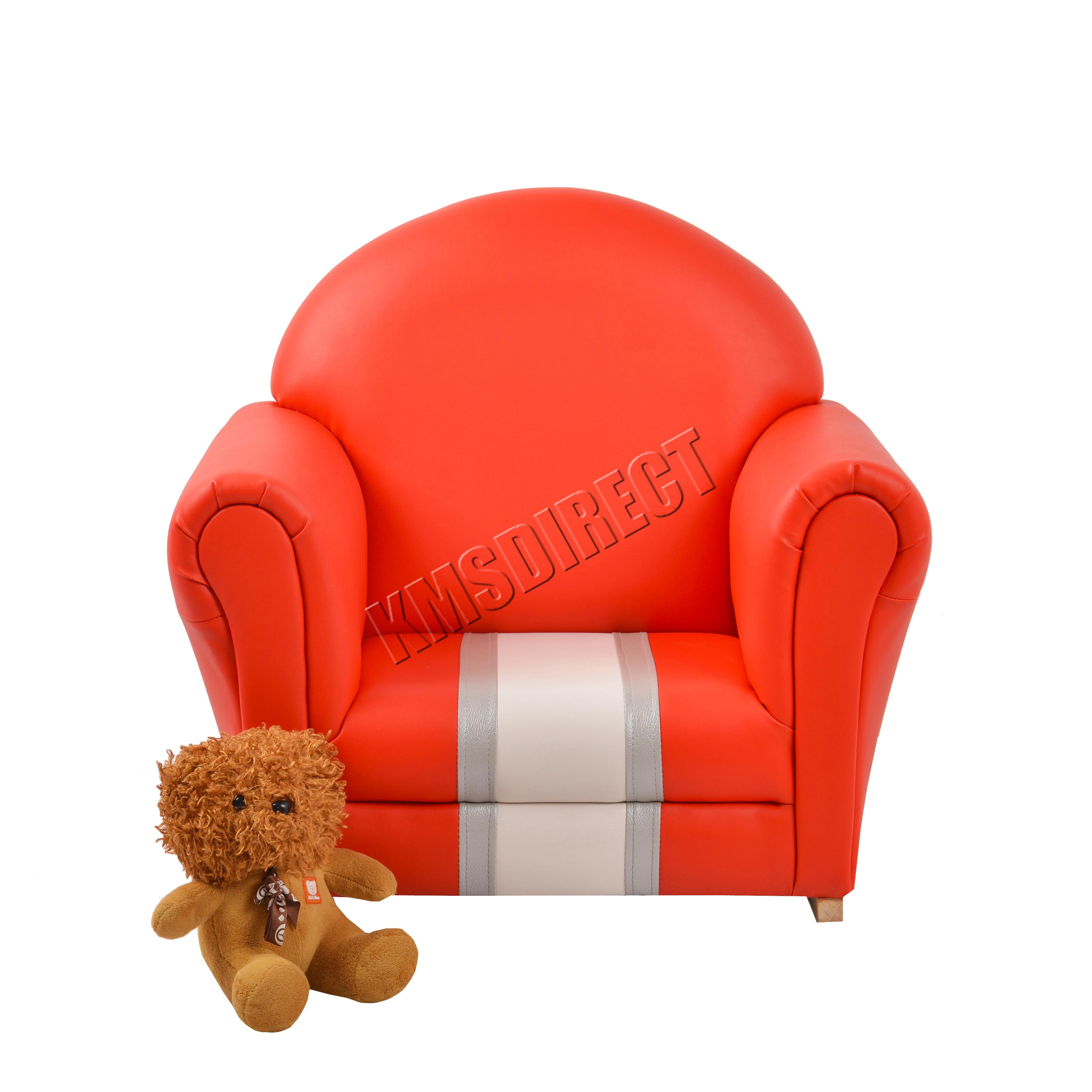 FoxHunter Kids Armchair Games Chair Boys Girls Sofa Children Seat