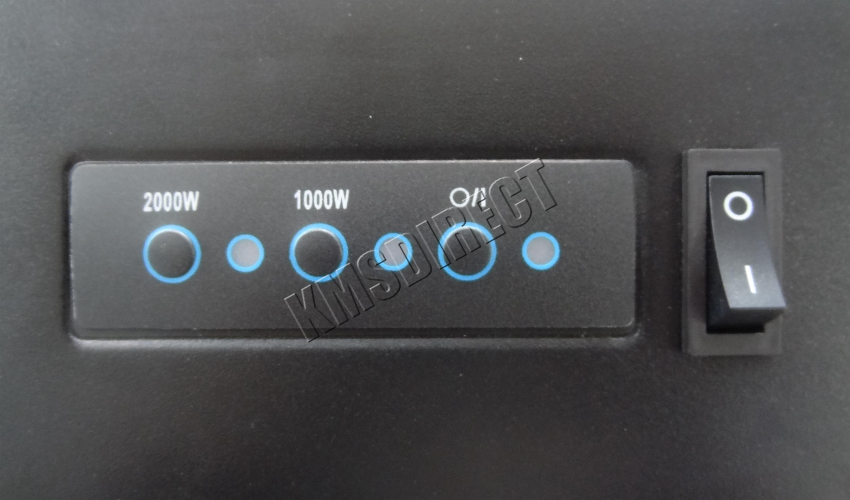 Support mural lectrique chemin e radiateur verre feu t l commande ebay - Radiateur electrique cheminee ...